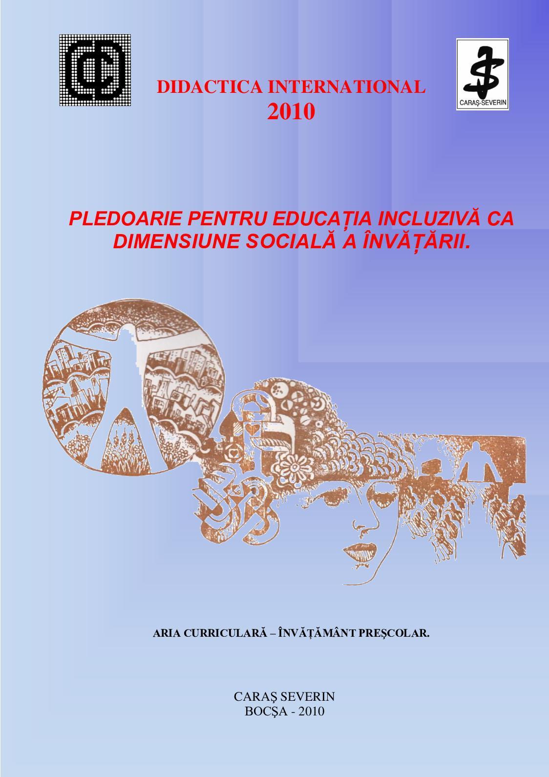 Calaméo - Publicatie Isbn 2010 Pledoarie Pentru Educatia