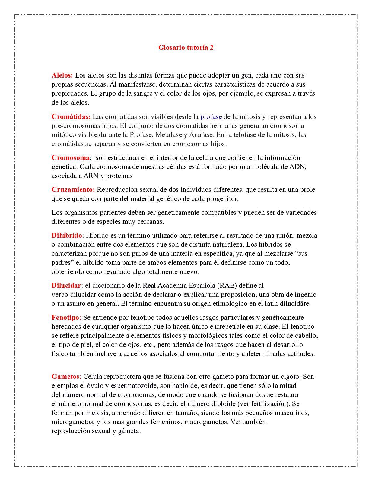 Calaméo Glosario Tutoría 2