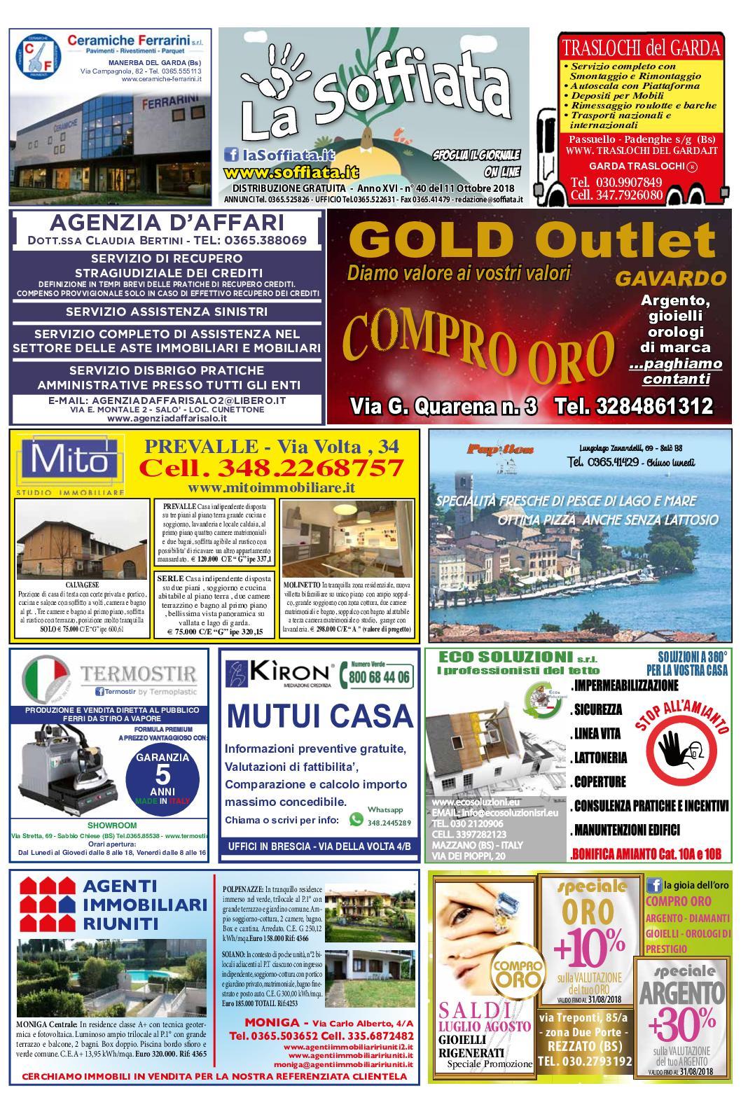 Calameo La Soffiata 11 Ottobre 2018
