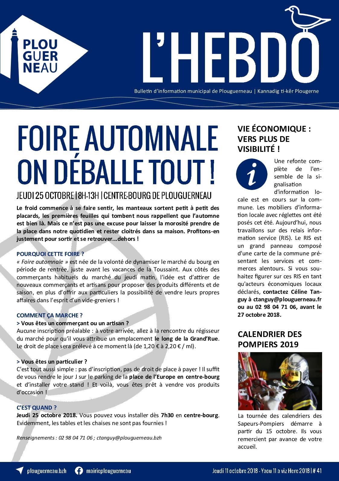 Calaméo - Bulletin d information municipal n°41 - Octobre 2018- Mairie de  Plouguerneau e15d79d6d1b4