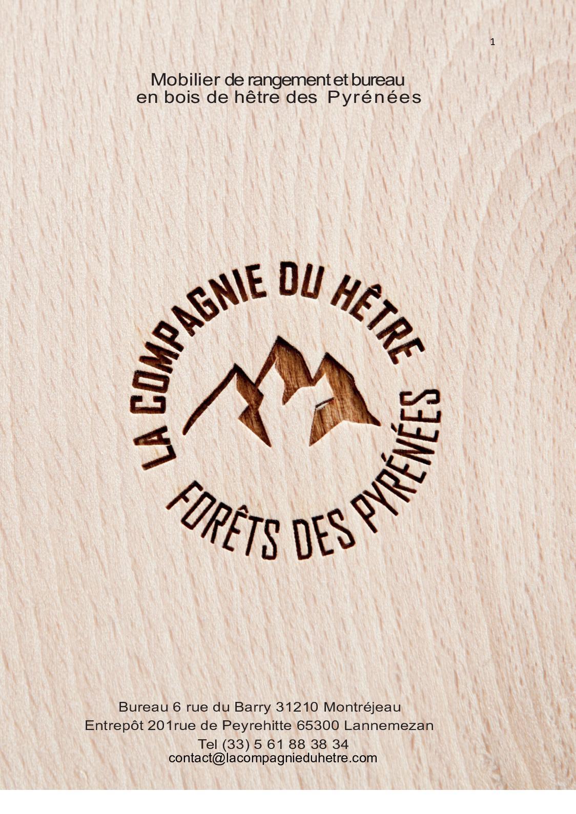La Compagnie Du Hetre calaméo - catalogue mobilier bois de la compagnie du hêtre