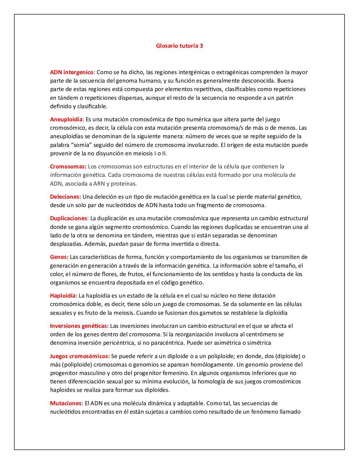 Calaméo Glosario Tutoría 3