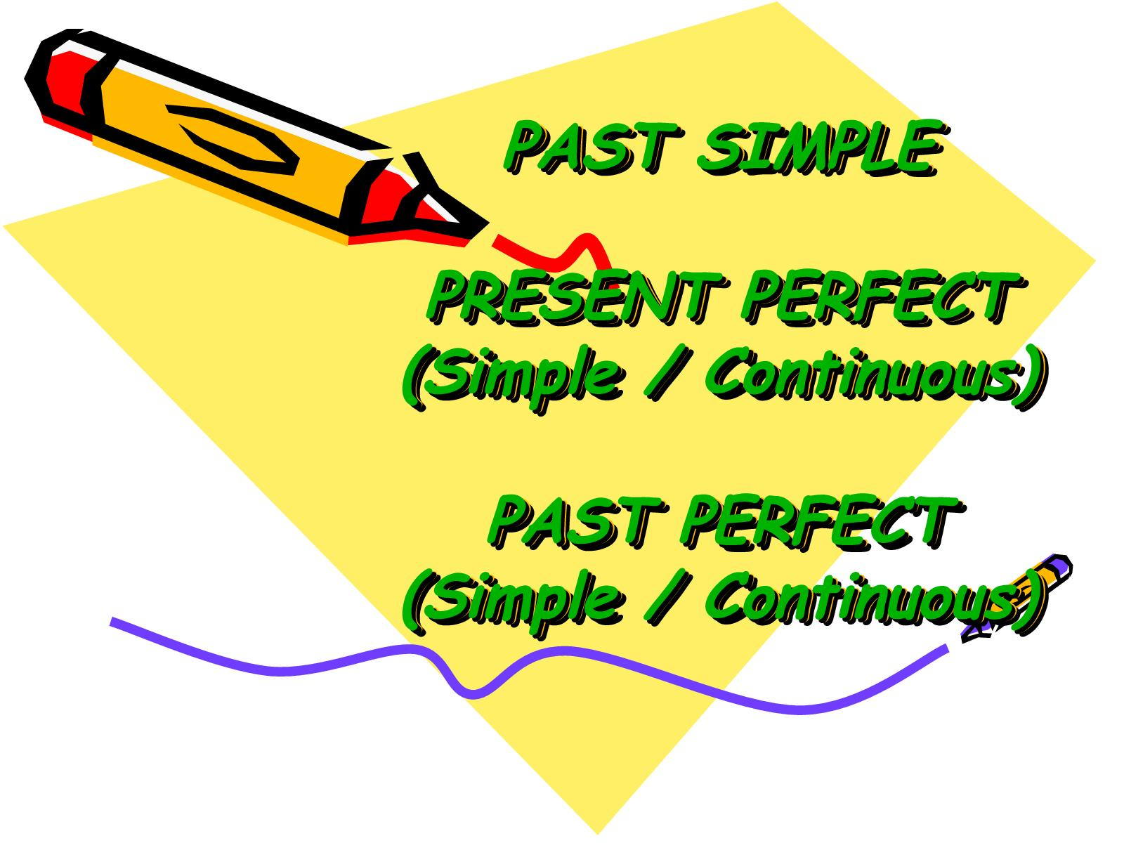 Calaméo - Past Simple - Pres  Perfect & Past Perfect
