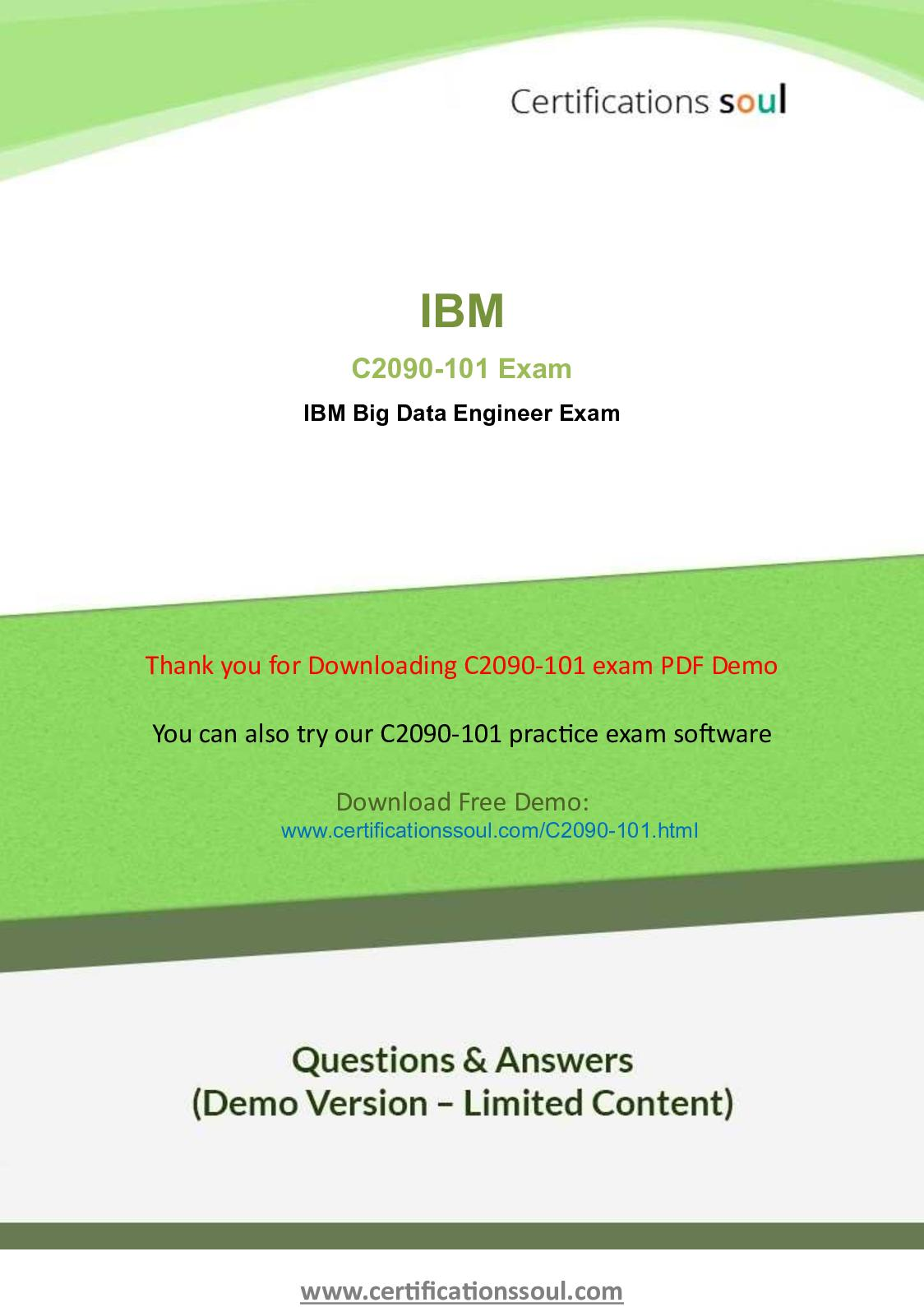 Calaméo - C2090 101 Practice Exam Question