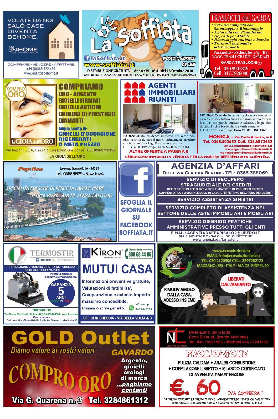Calameo La Soffiata 18 Ottobre 2018
