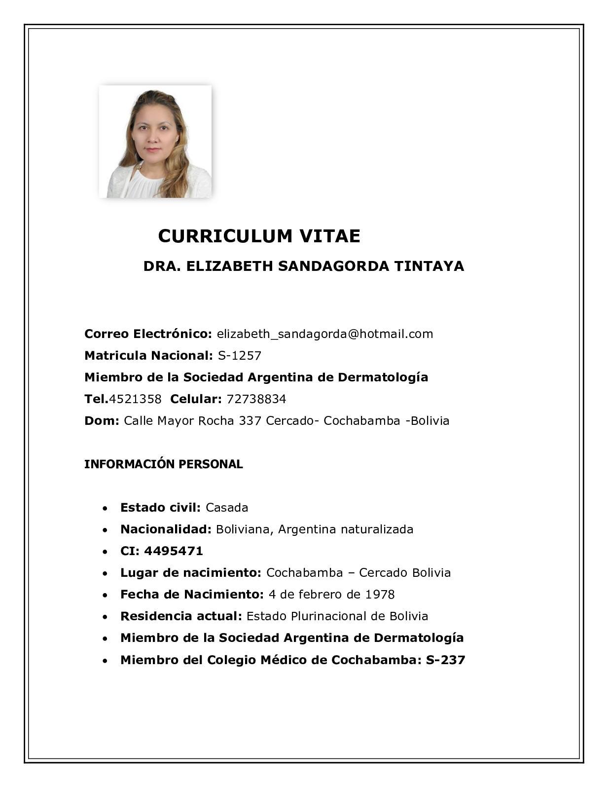 Calameo Cv 10 De Octubre Ok Imprimir 2018 Bolivia