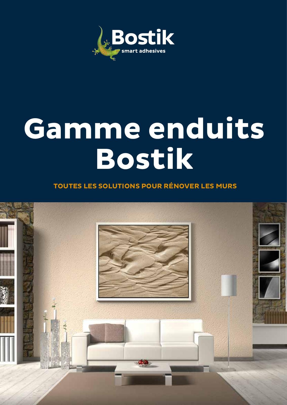 Enduit Souple Pour Bois calaméo - bostik catalogue enduit