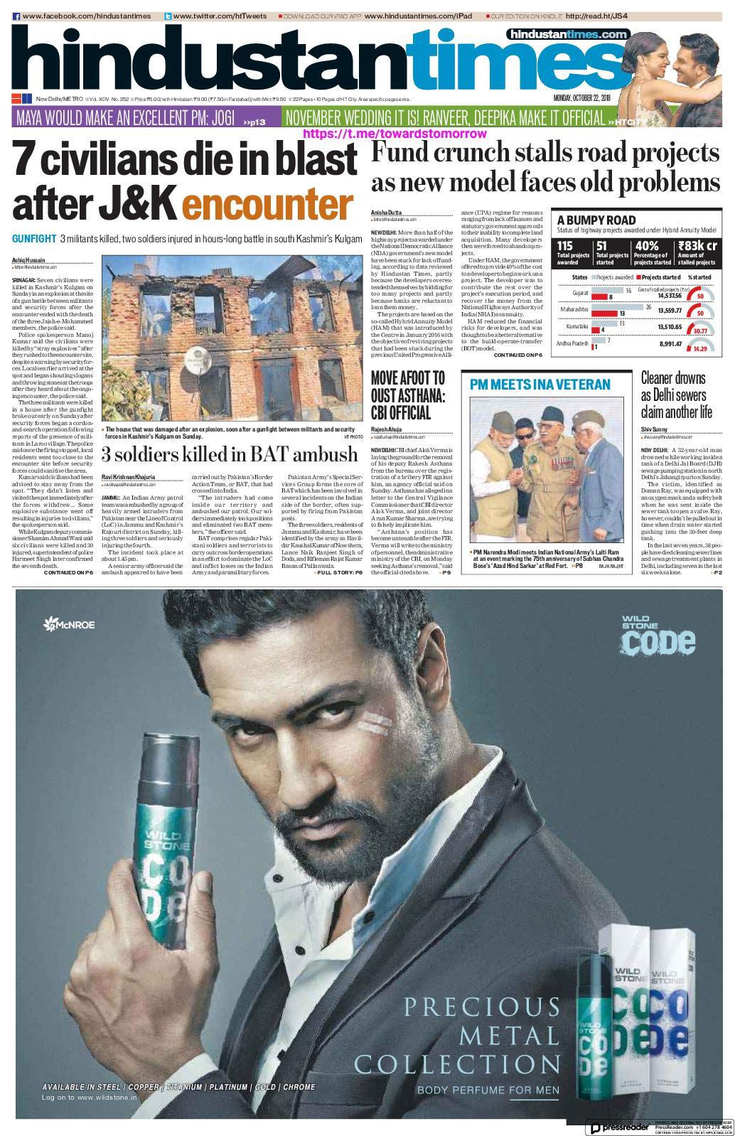 Calaméo - Hindustan Times Delhi_(2018 10 22)