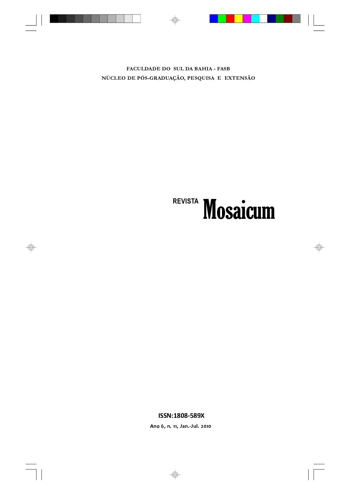 8fcd84740 Calaméo - Mosaicum 11