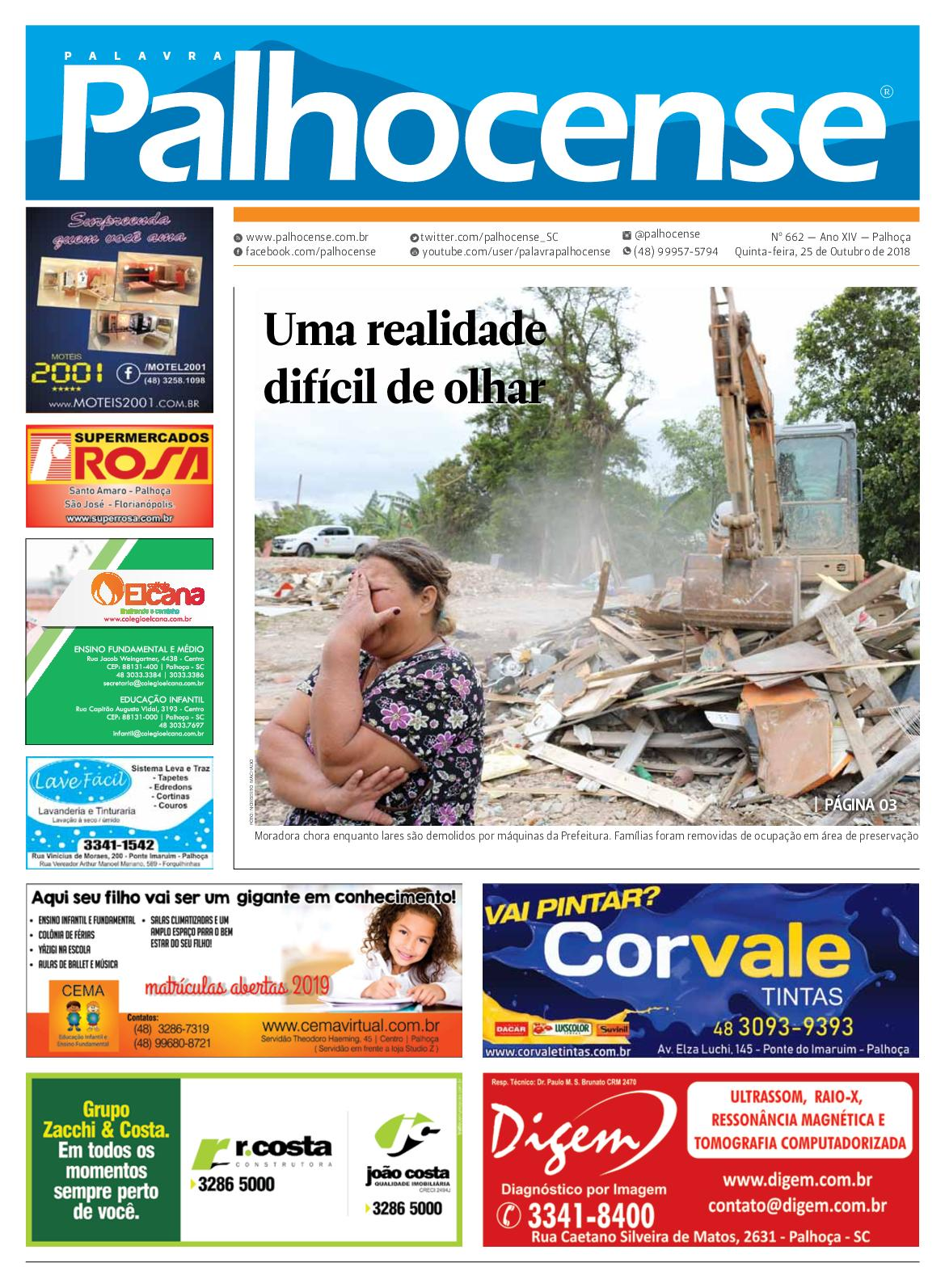 Calaméo - JORNAL PALAVRA PALHOCENSE - EDIÇÃO 662 04be8f0606114