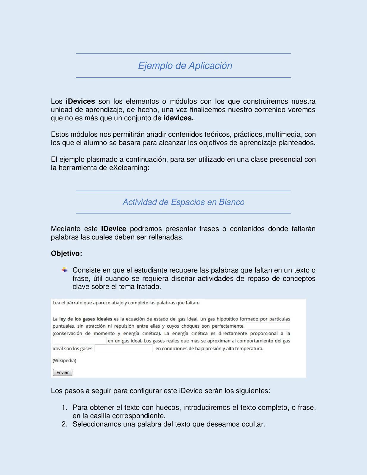 Calaméo Ejemplo De Aplicación