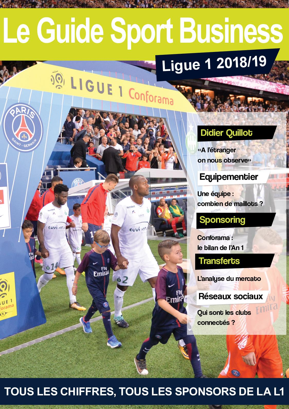 Sport 1 Le 201819 Guide Calaméo Ligue Business cj3Rq4AL5