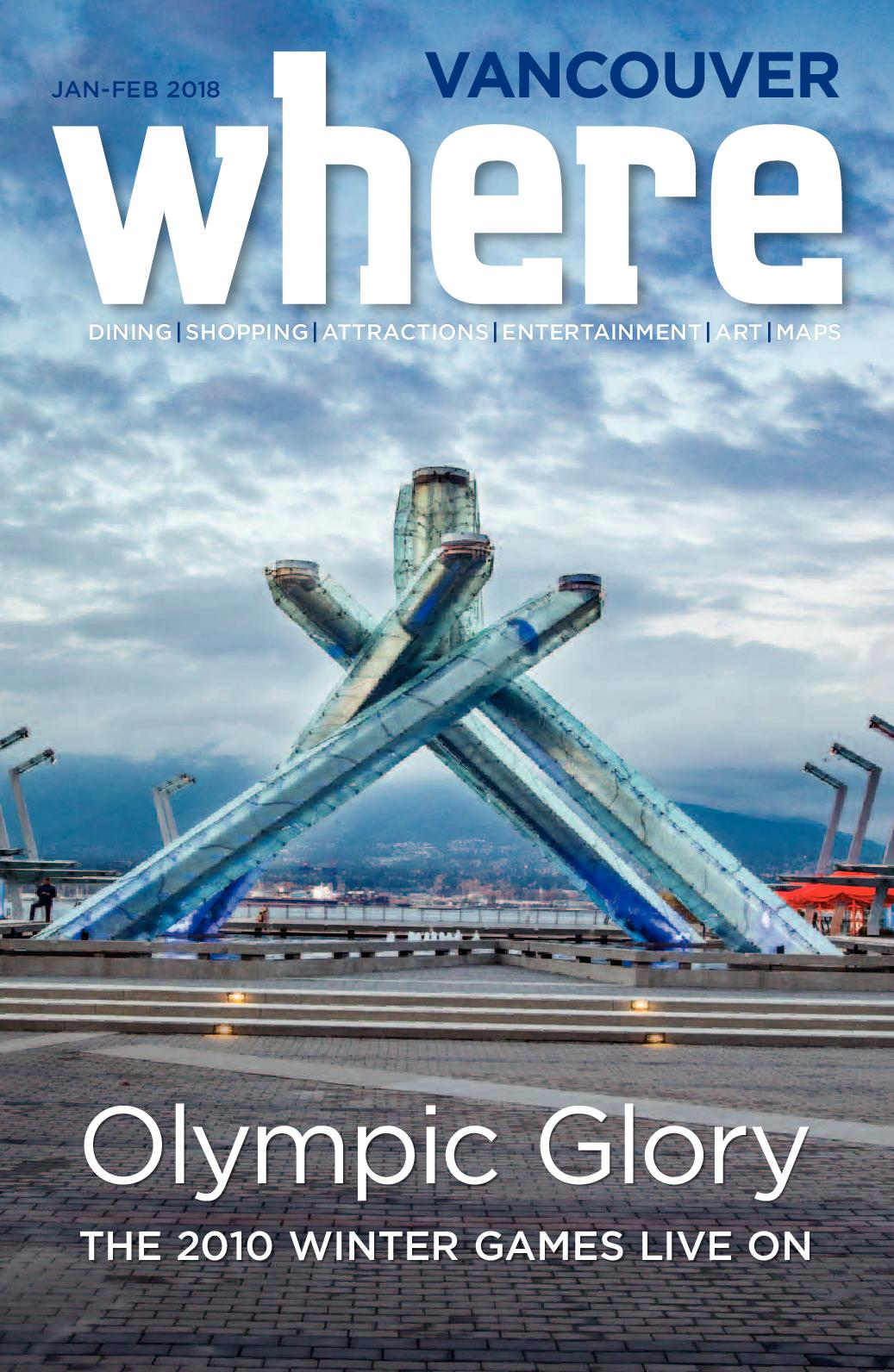 b9e7d1c24c9 Calaméo - Where Vancouver January/February 2018