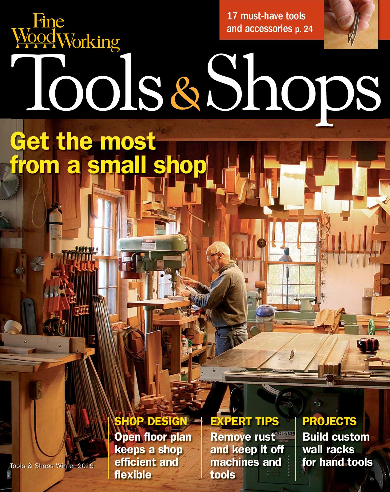 Calameo Fine Woodworking 272 Winter 2018 2019 Tools And Shops Preview