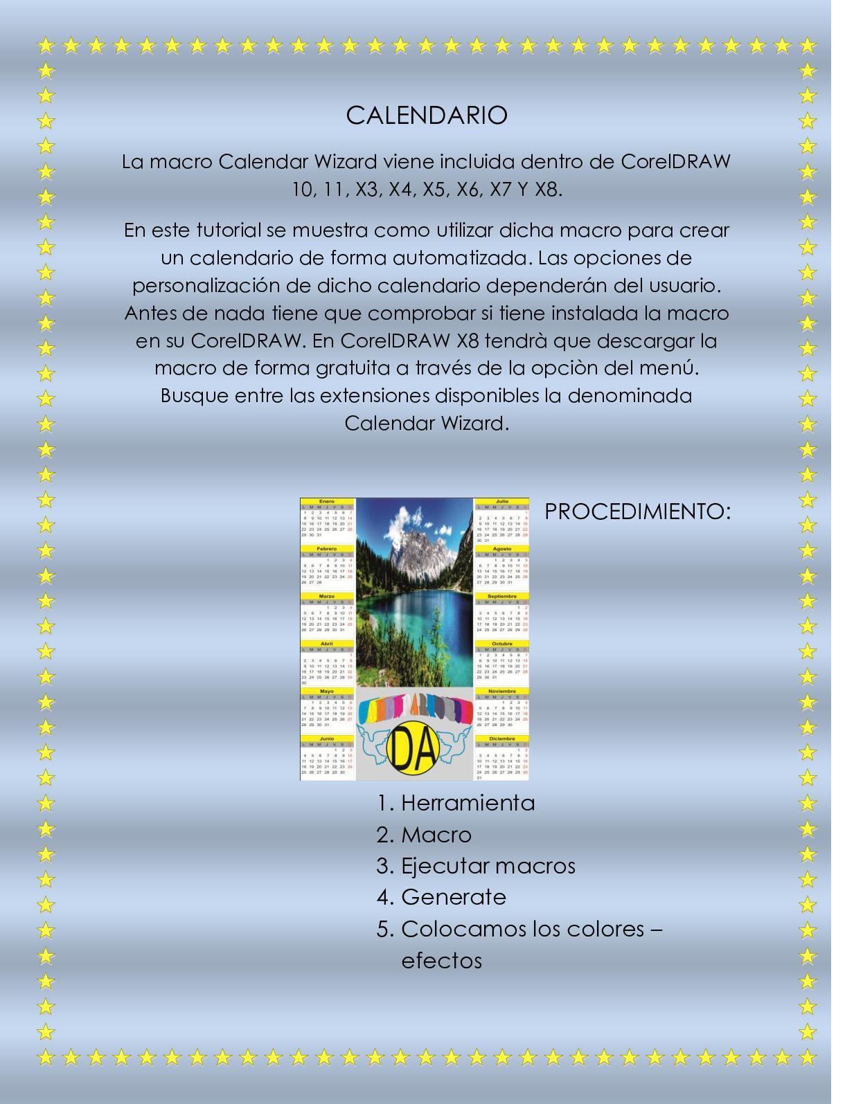 Calaméo - Calendario