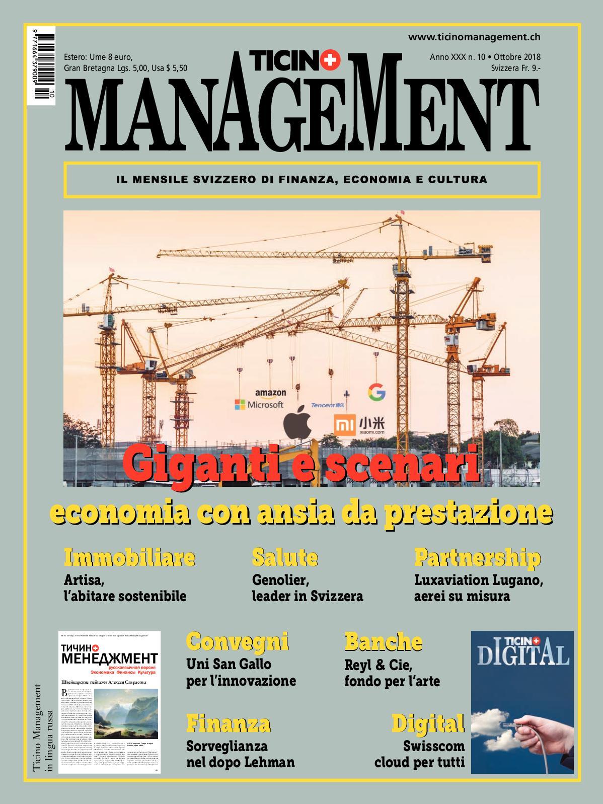 e89745a0996d4 Calaméo - Ticino Management Ottobre 2018