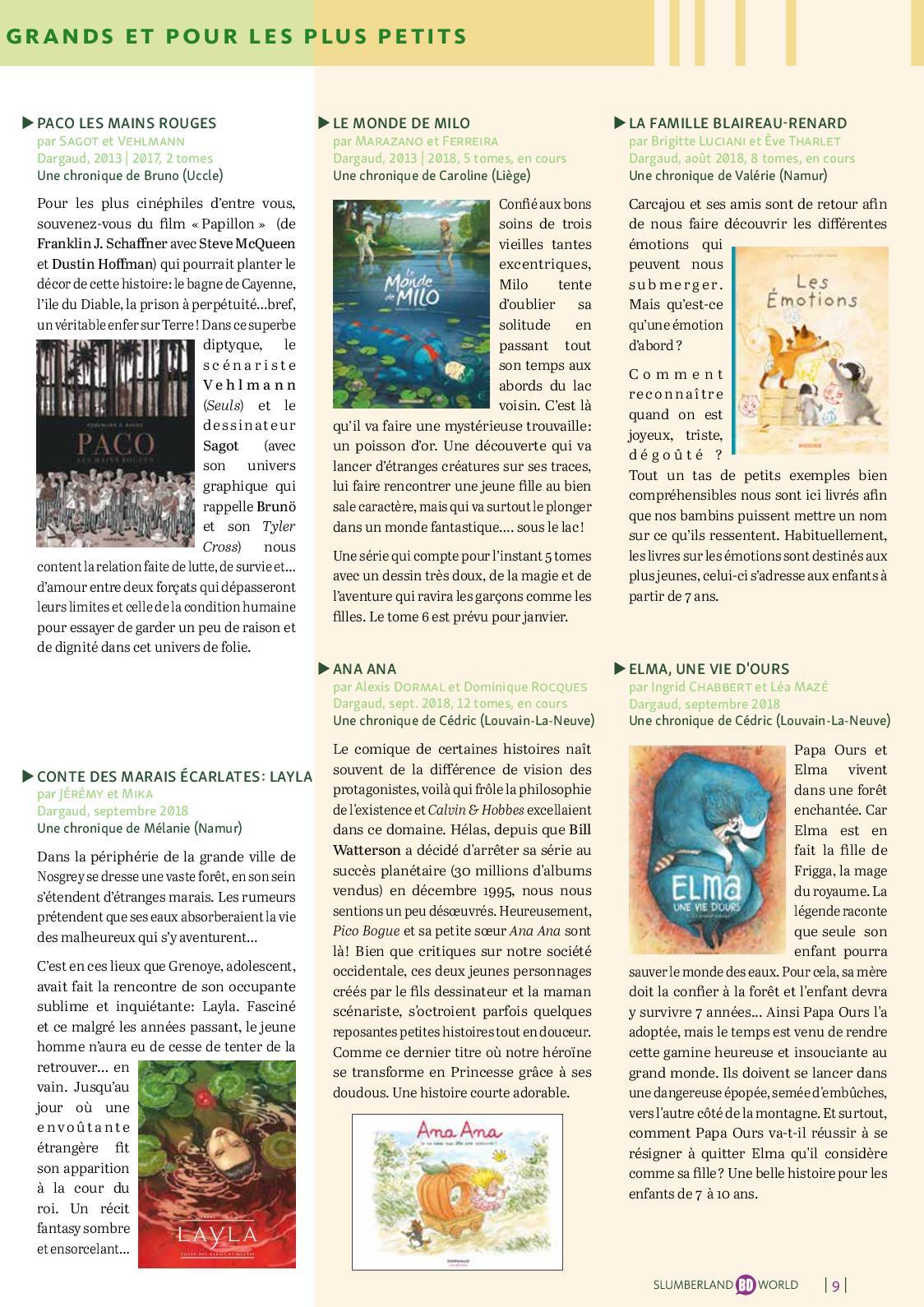 Comment Rencontrer Ses Voisins magazine slumberland bd world #41 - calameo downloader