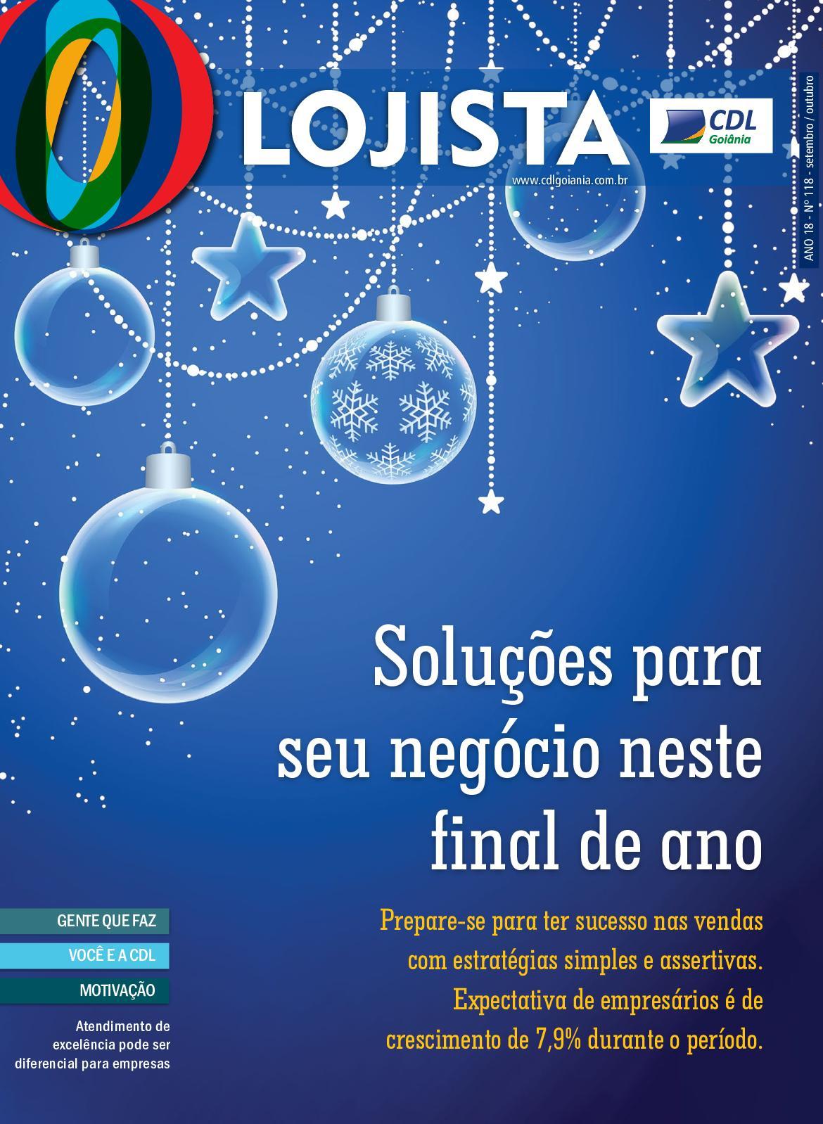 fbaa7db09 Calaméo - Revista O Lojista Ed 118