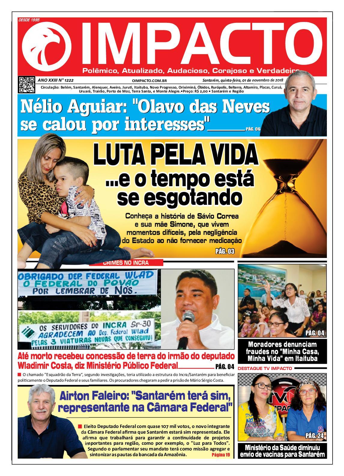 37bd8b82a80 Calaméo - Jornal O Impacto Ed. 1222