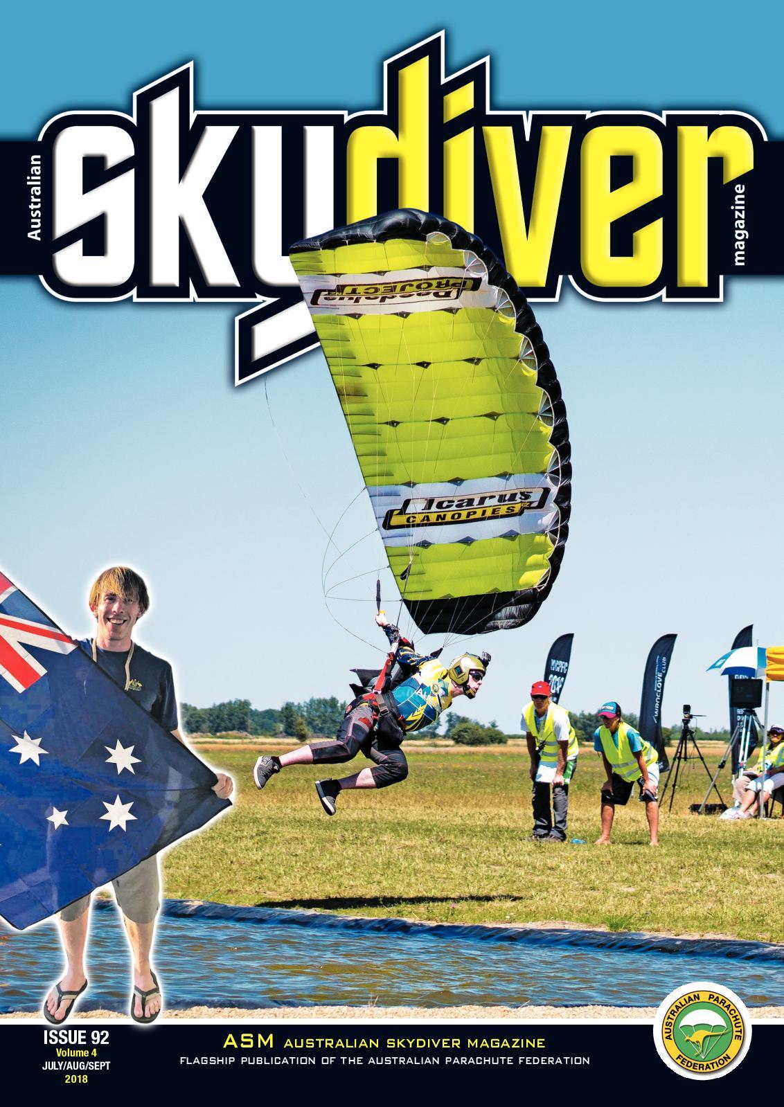 6b52942d45e0 Calaméo - Australian Skydiver Magazine issue 92