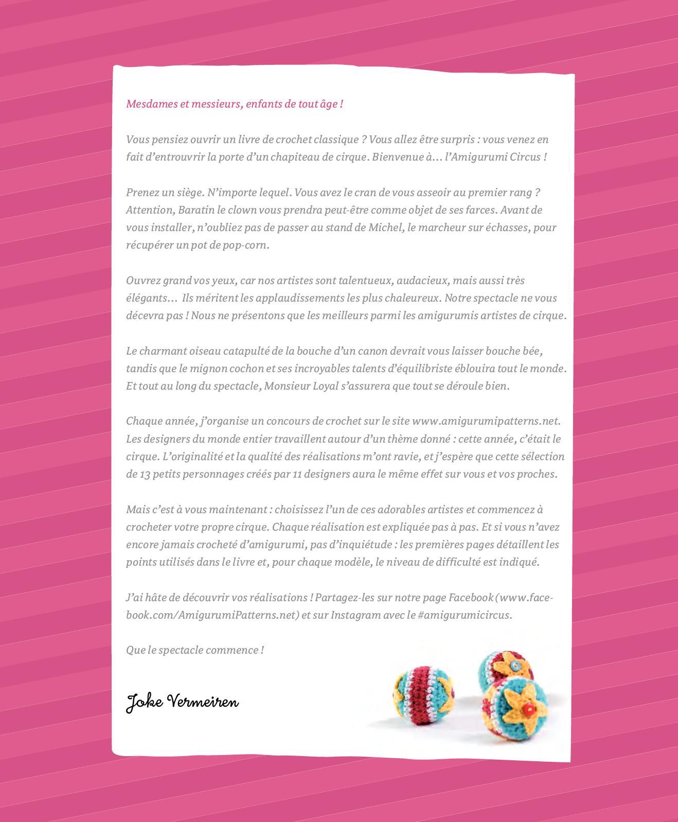 Amigurumipatterns.net - Book creations - Amigurumi-Circus - Hanna ... | 1597x1318
