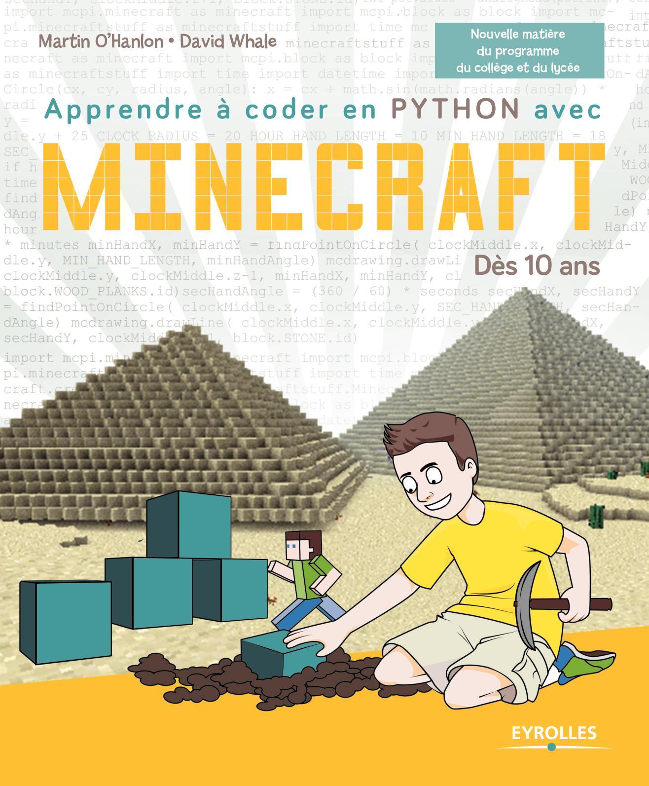 Calaméo Apprendre à Coder En Python Avec Minecraft