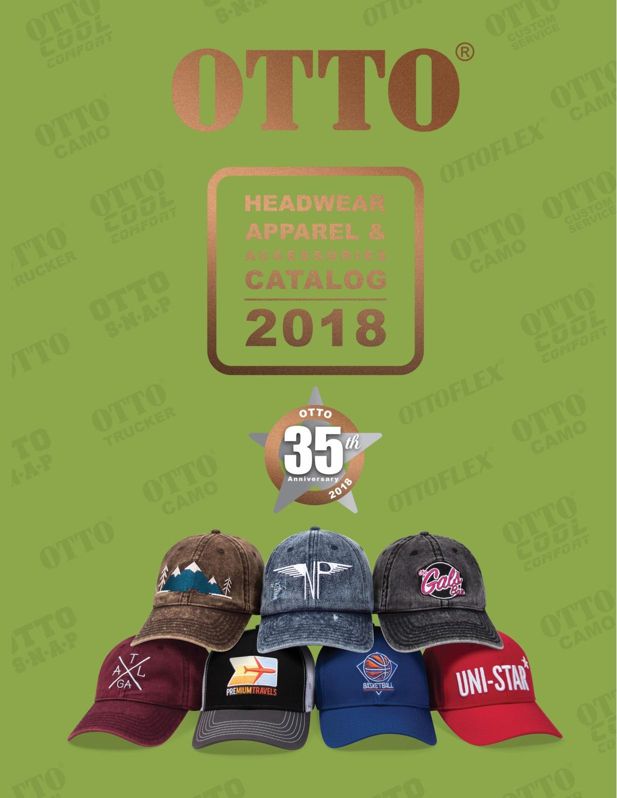 a3074b94c55 Calaméo - OTTO Cap Catalog 2018