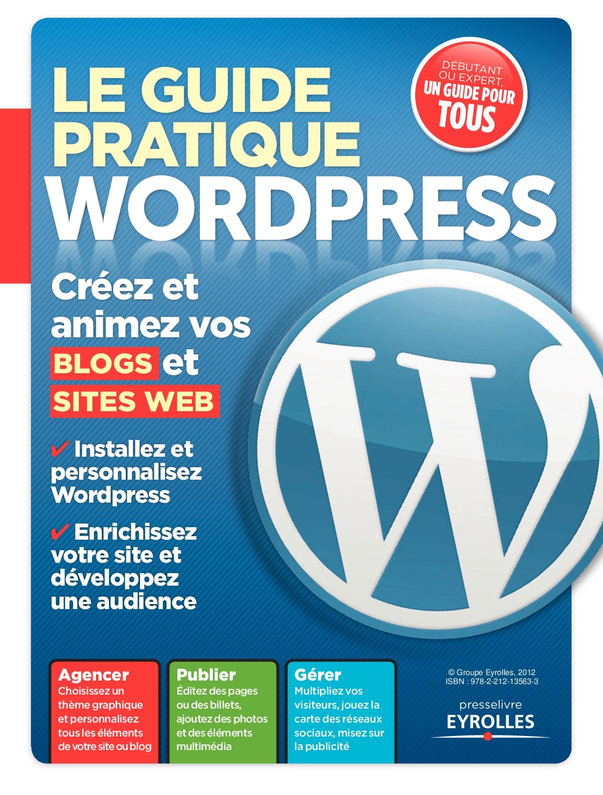 Le Guide Pratique Wordpress Pdf