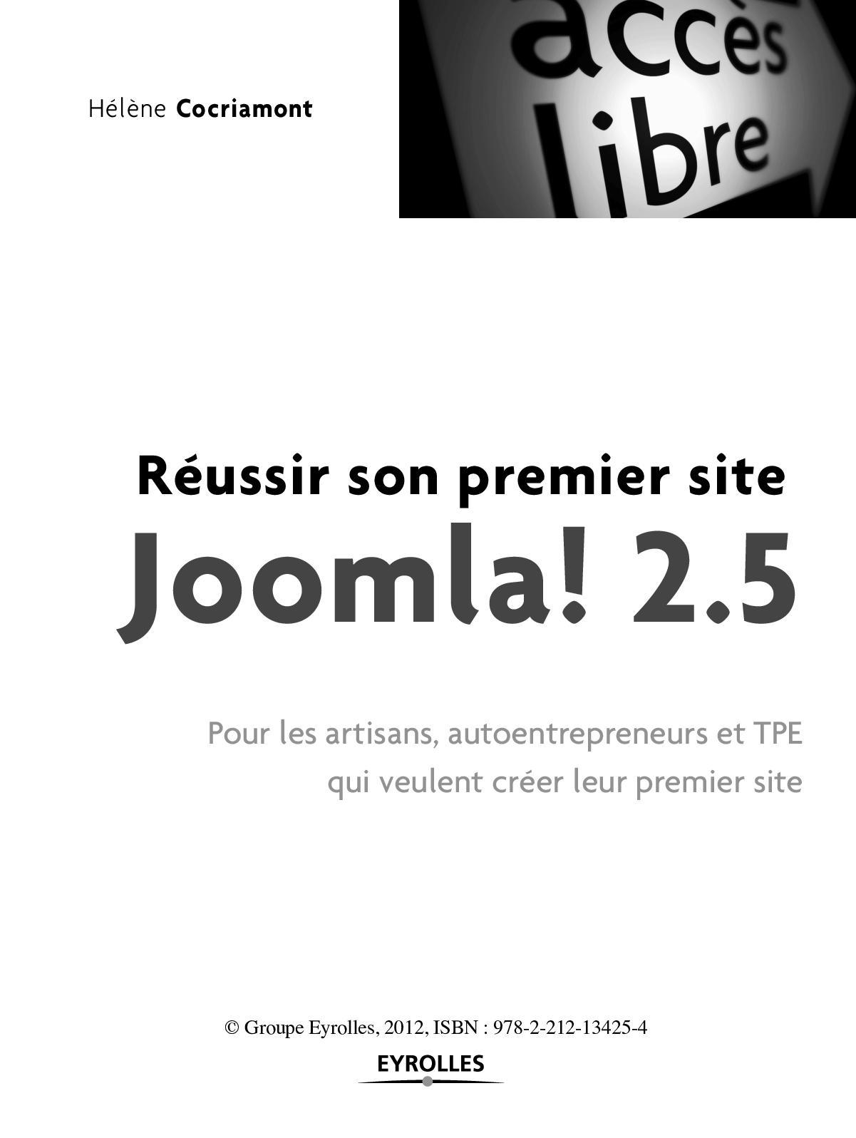 JOOMLA 2.5 TÉLÉCHARGER JCE POUR