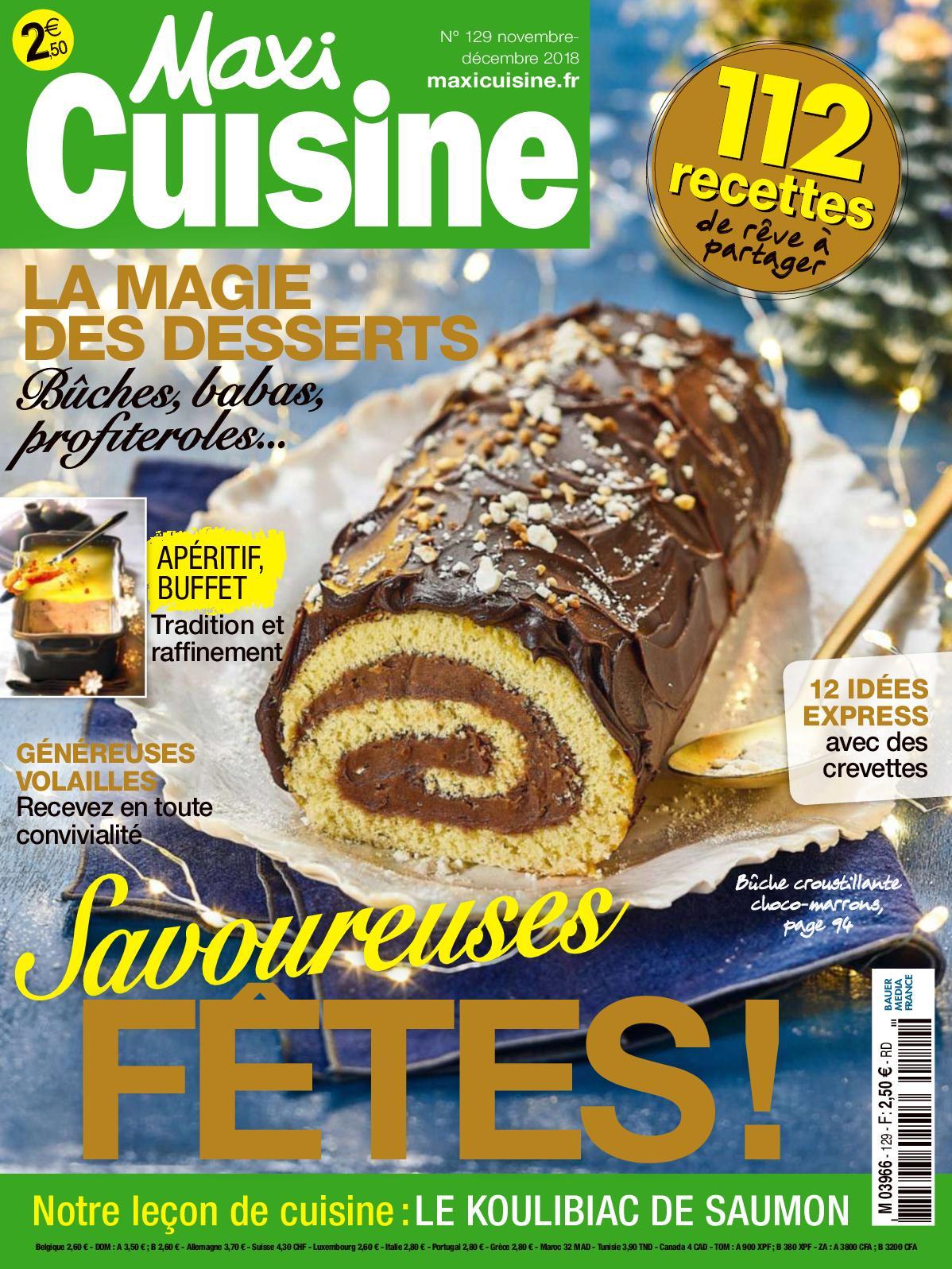 Cuisine Novembre Maxi Calaméo Decembre 2018 NnkX0ZOP8w