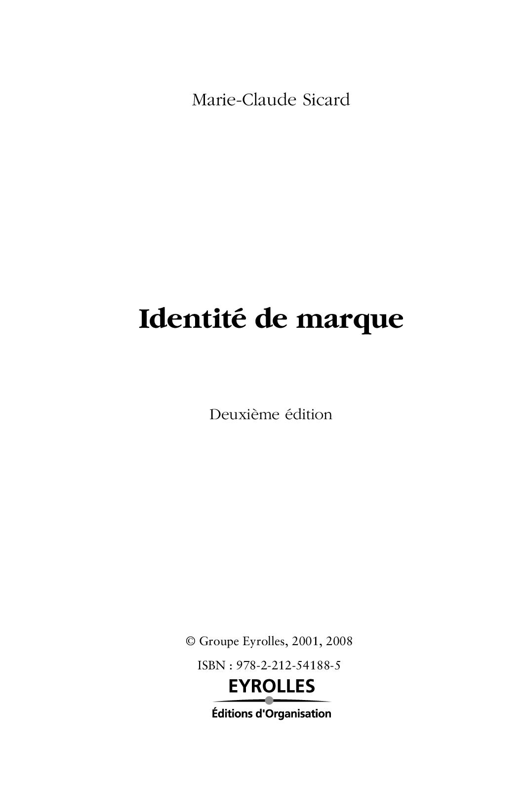 Chap6 Marque Identité sicard pdf Calaméo De ukZOPXi