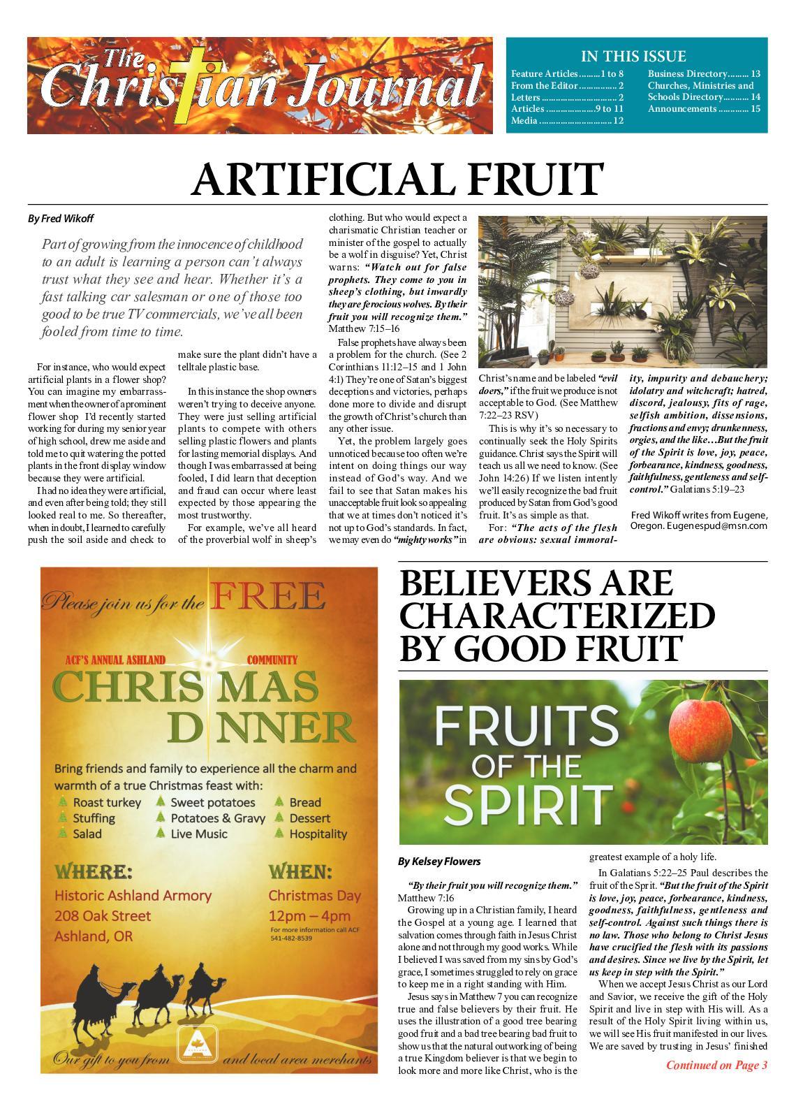 6f13de68e Calaméo - Christian Journal November 2018