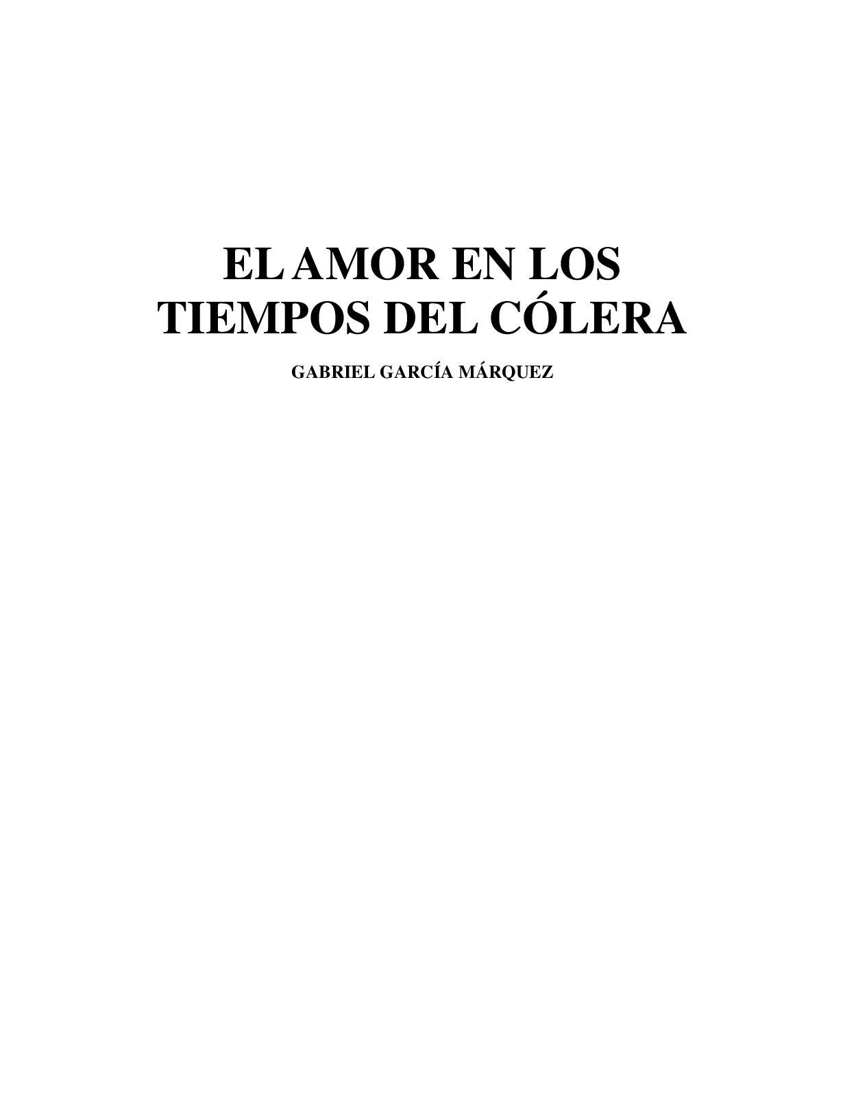 c2de245eedbf Calaméo - El amor de los tiempos de colera