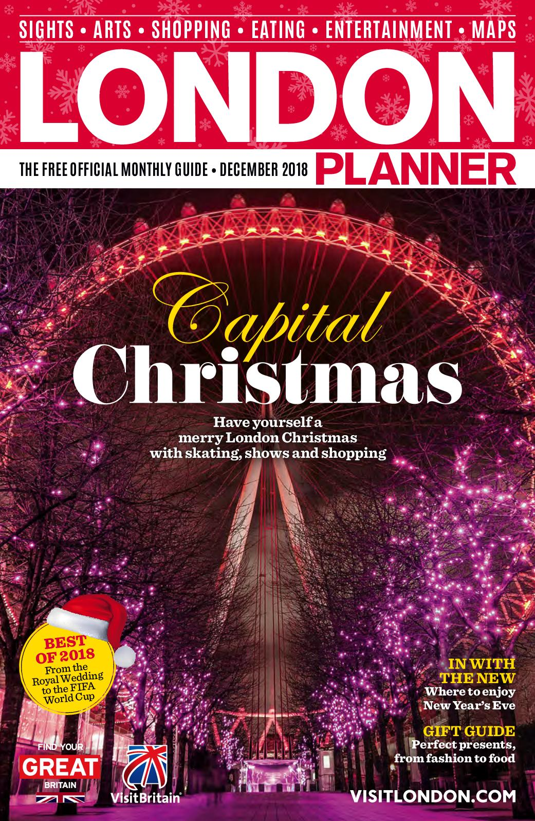 Calaméo - LONDON PLANNER DECEMBER 2018