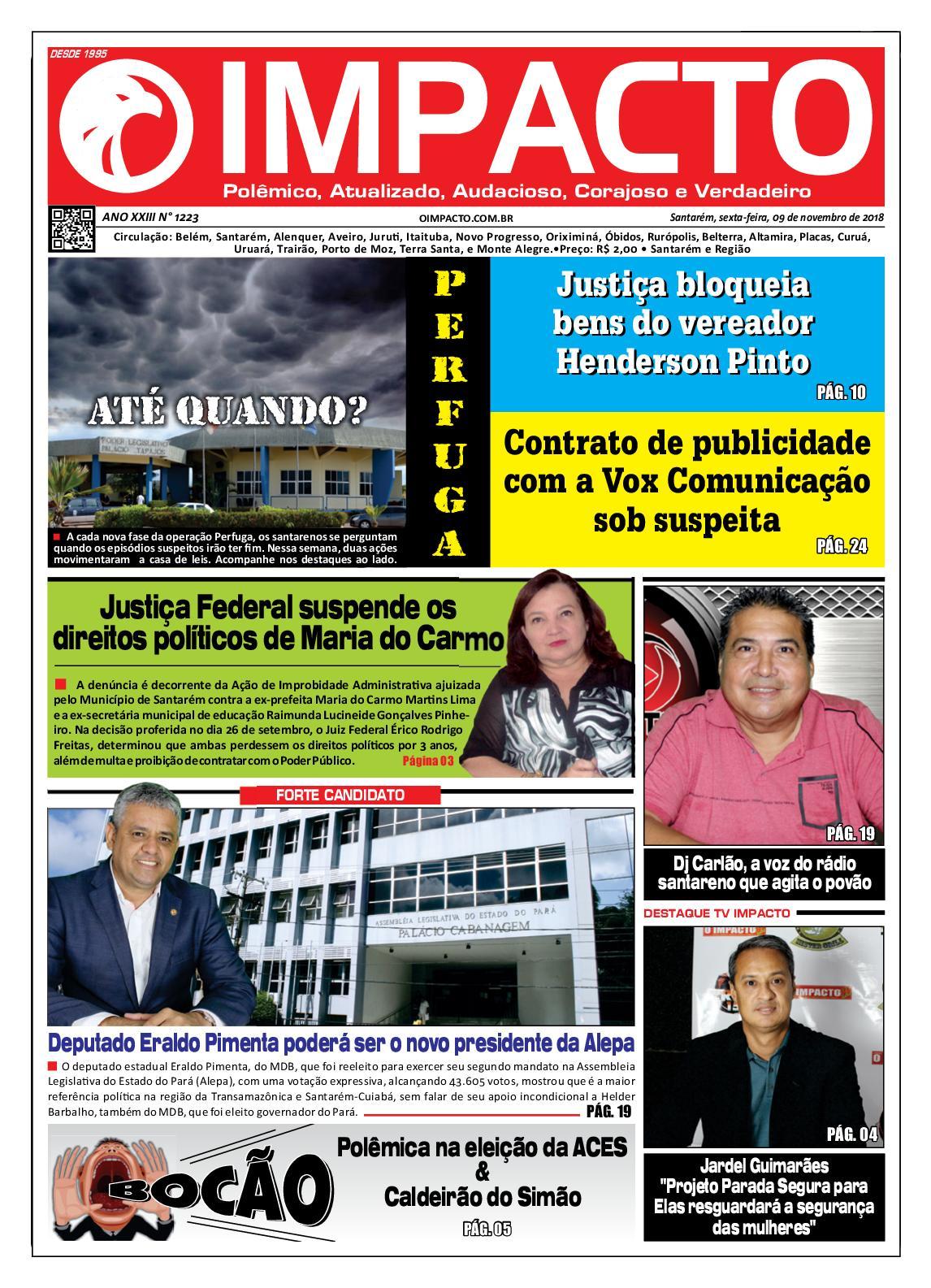 0bde336b63 Calaméo - Jornal O Impacto Ed. 1223