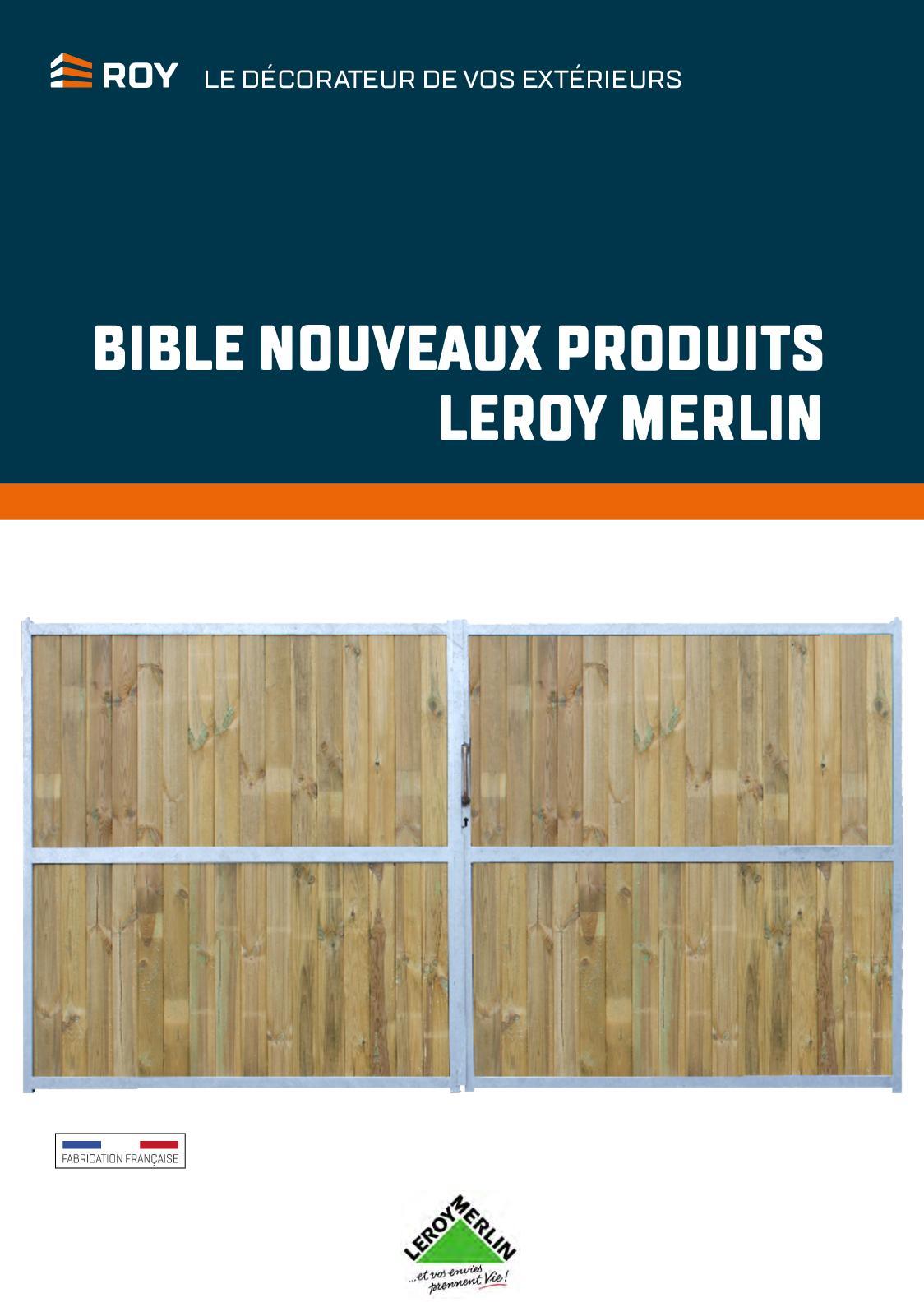 Calaméo Bible Nouveaux Produits Leroy Merlin