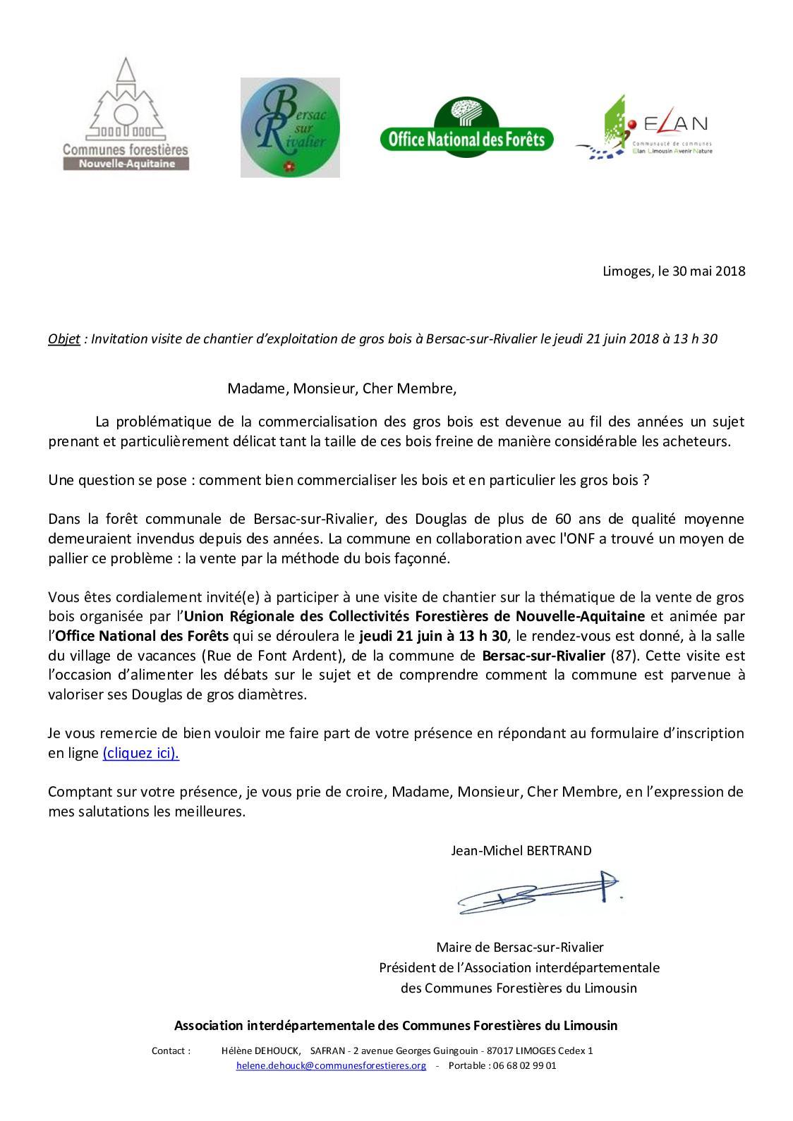 Calaméo Invitation Et Ordre Du Jour Visite De Chantier