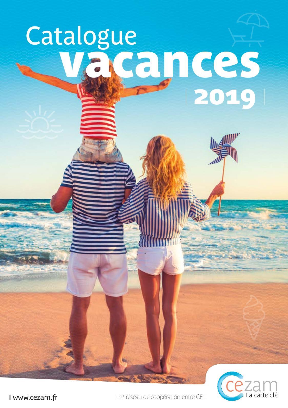Carte Cezam Drome Ardeche.Calameo Catalogue Vacances Cezam 2019