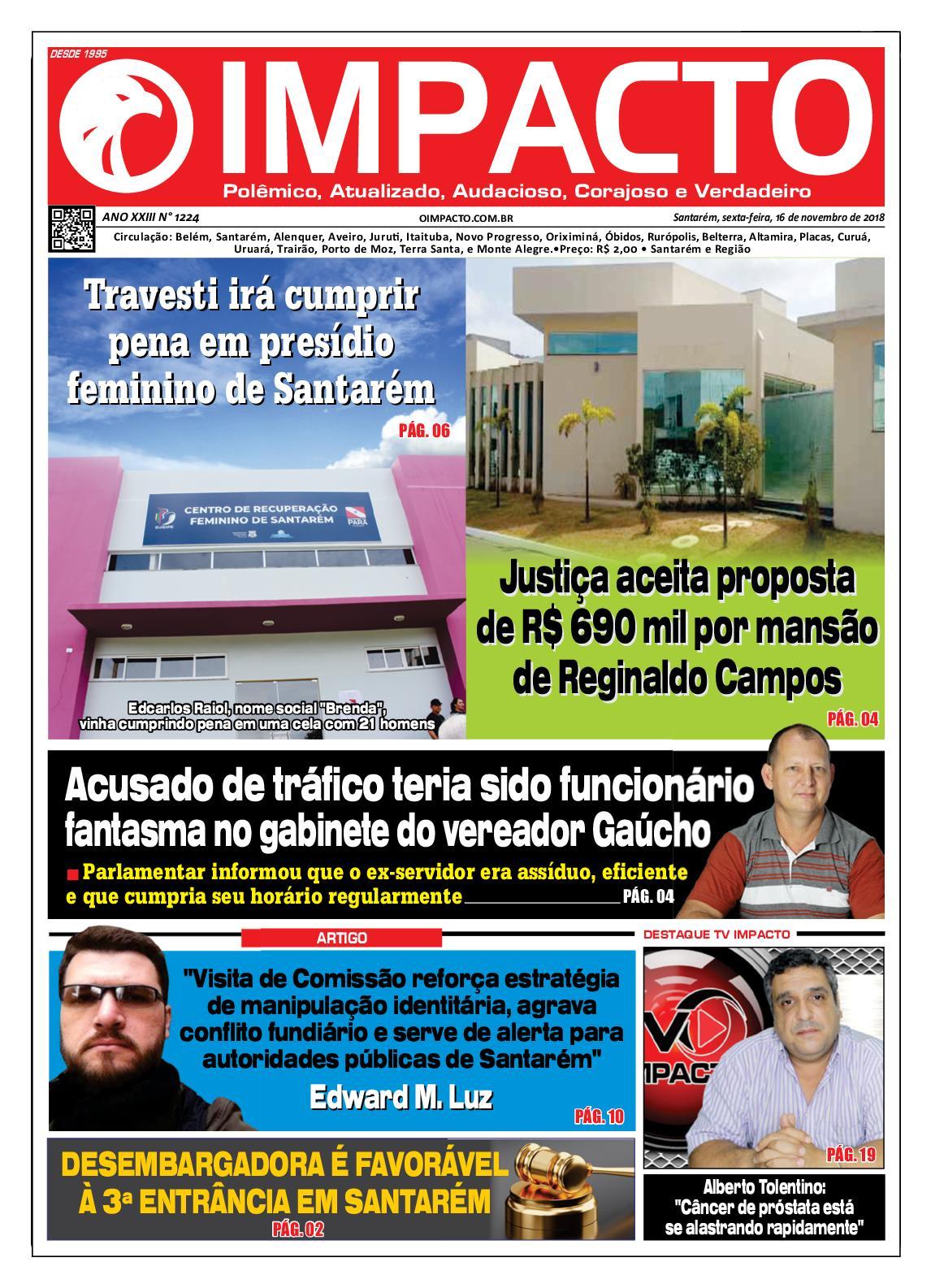 Calaméo - Jornal O Impacto Ed. 1224 1a624c842de5a
