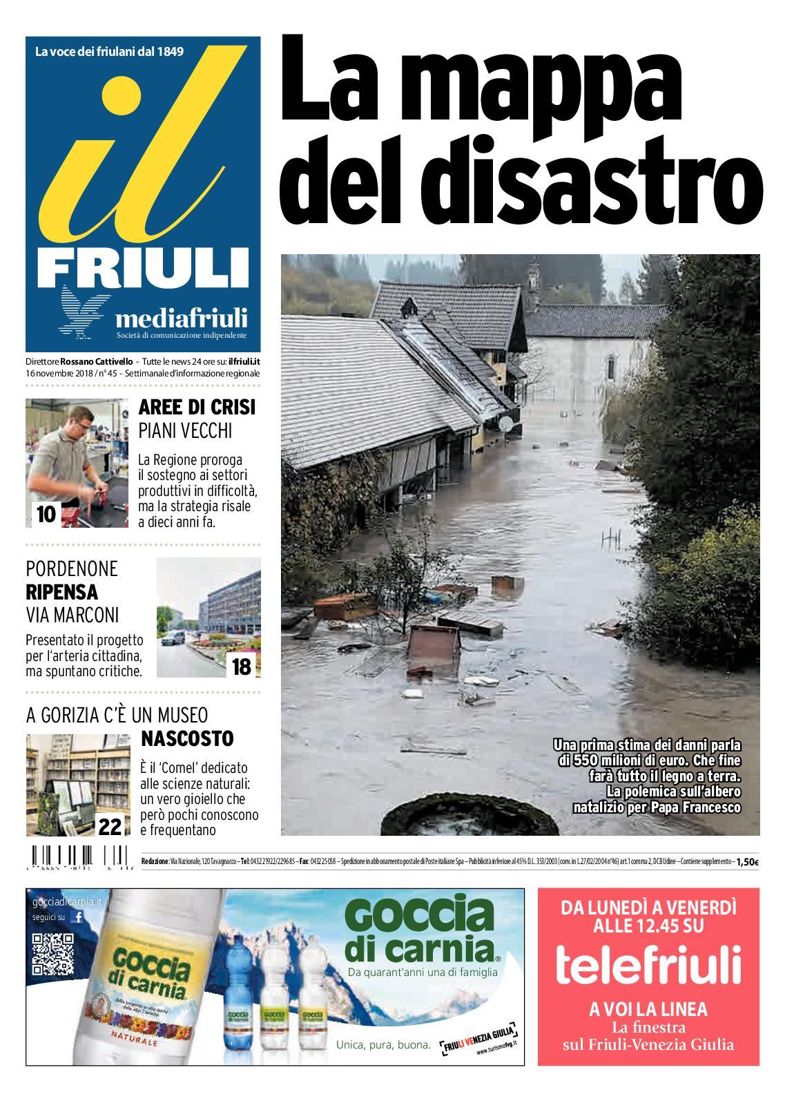 Calameo Il Friuli N45 16112018