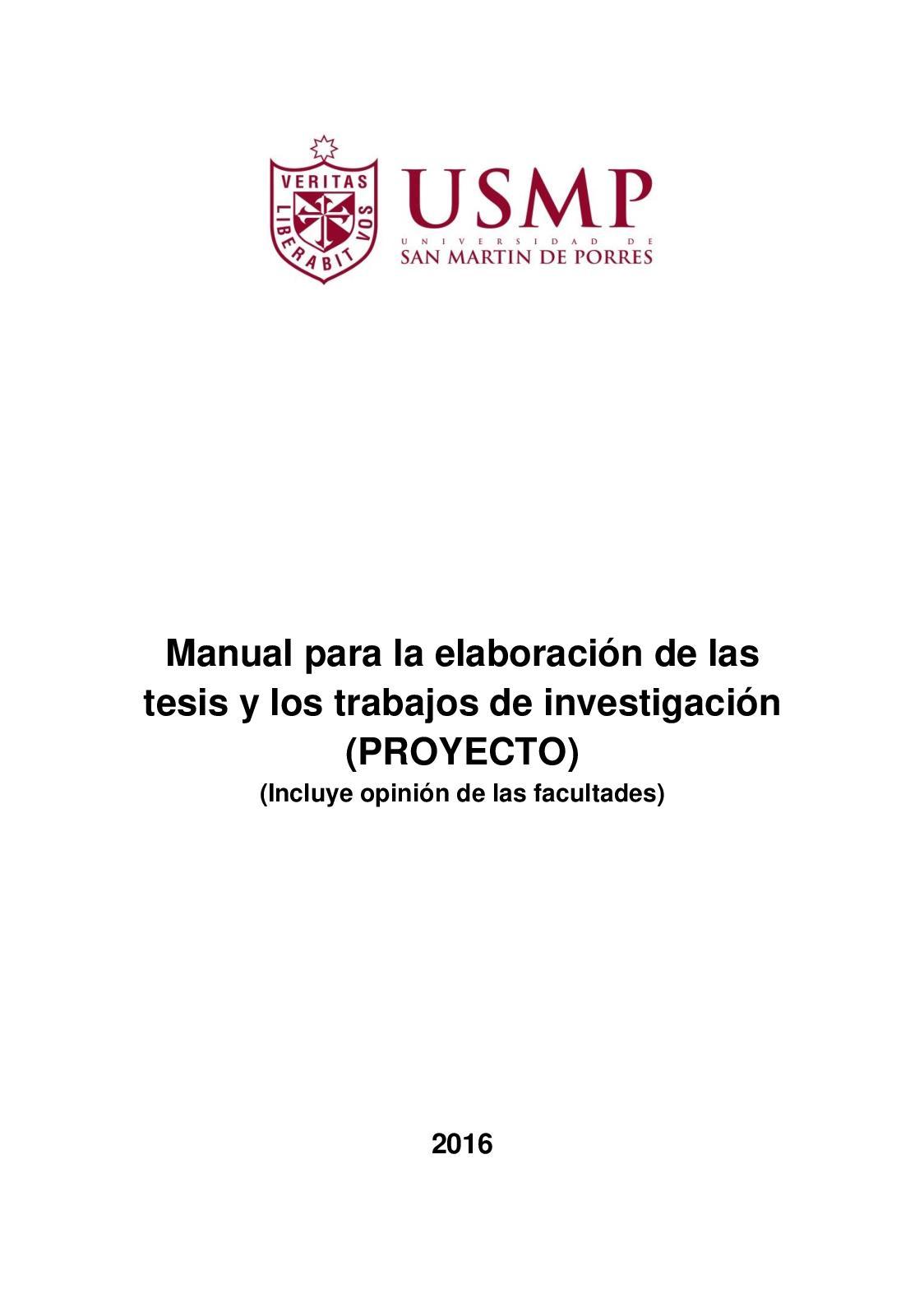 Manual Elab Tesis Y Los Trab De Investigacion