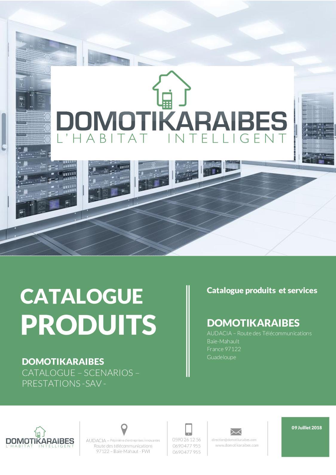 Calameo Catalogue Domotikaraibes 2018
