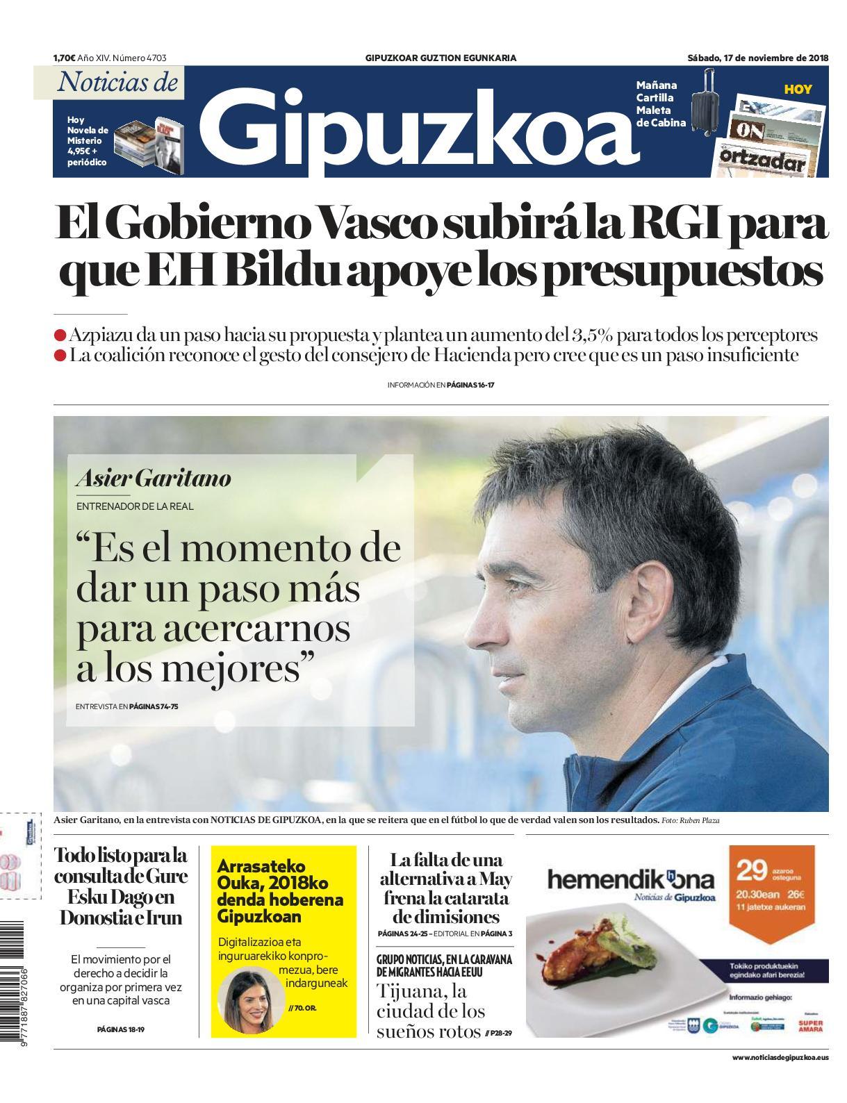 Calameo Noticias De Gipuzkoa 20181117