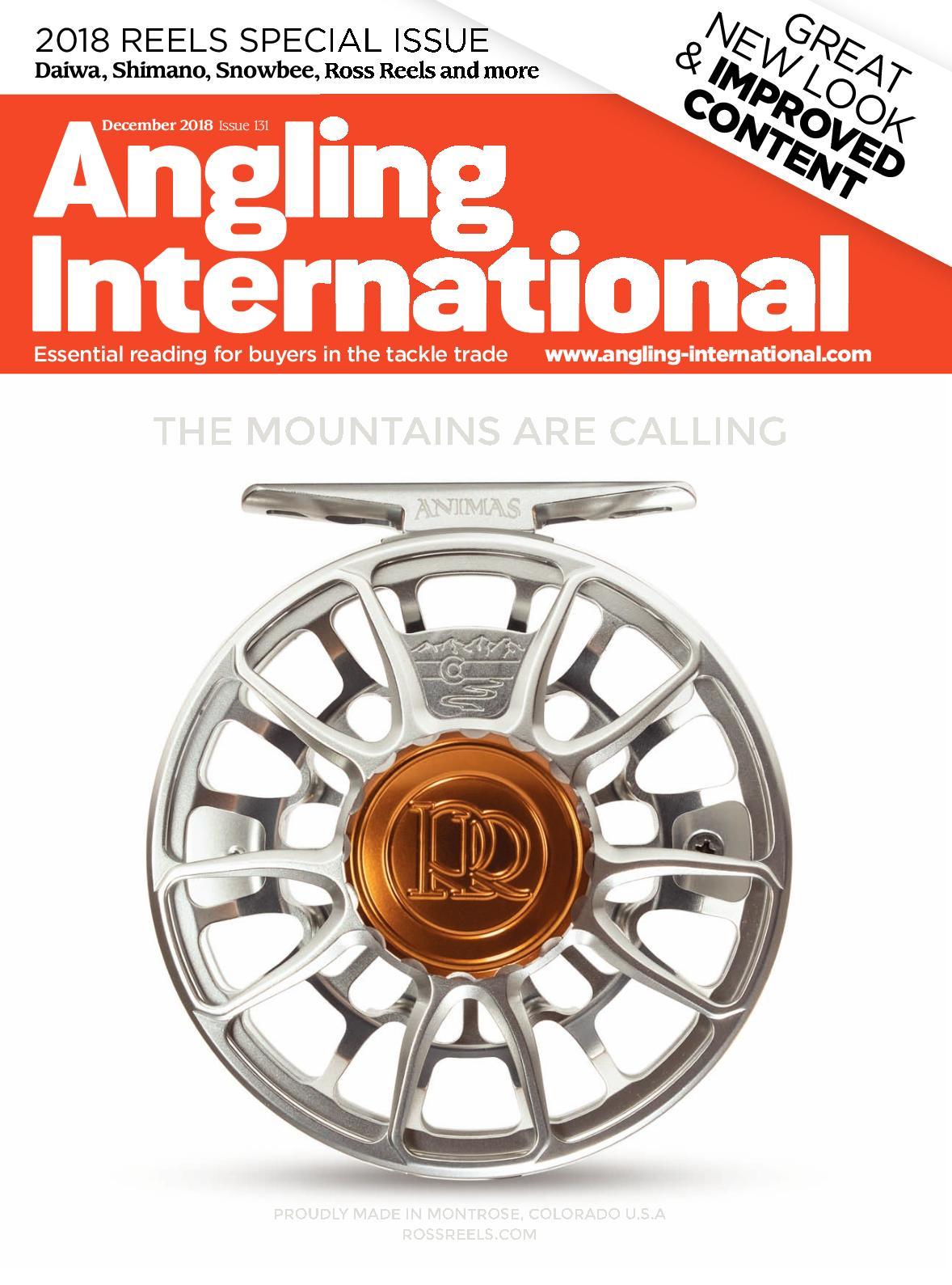 Calaméo - Angling International - December 2018 - issue 131