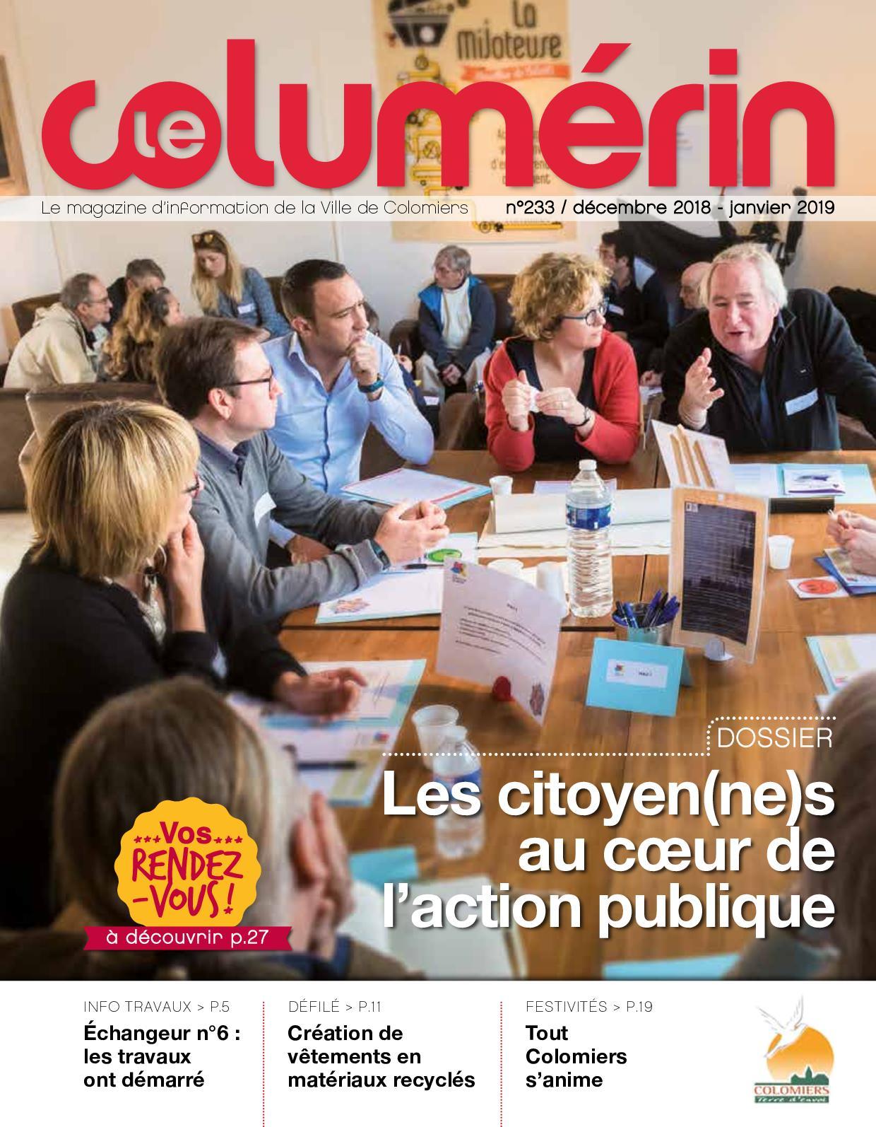 Calaméo Le Columerin N233 36p Bd