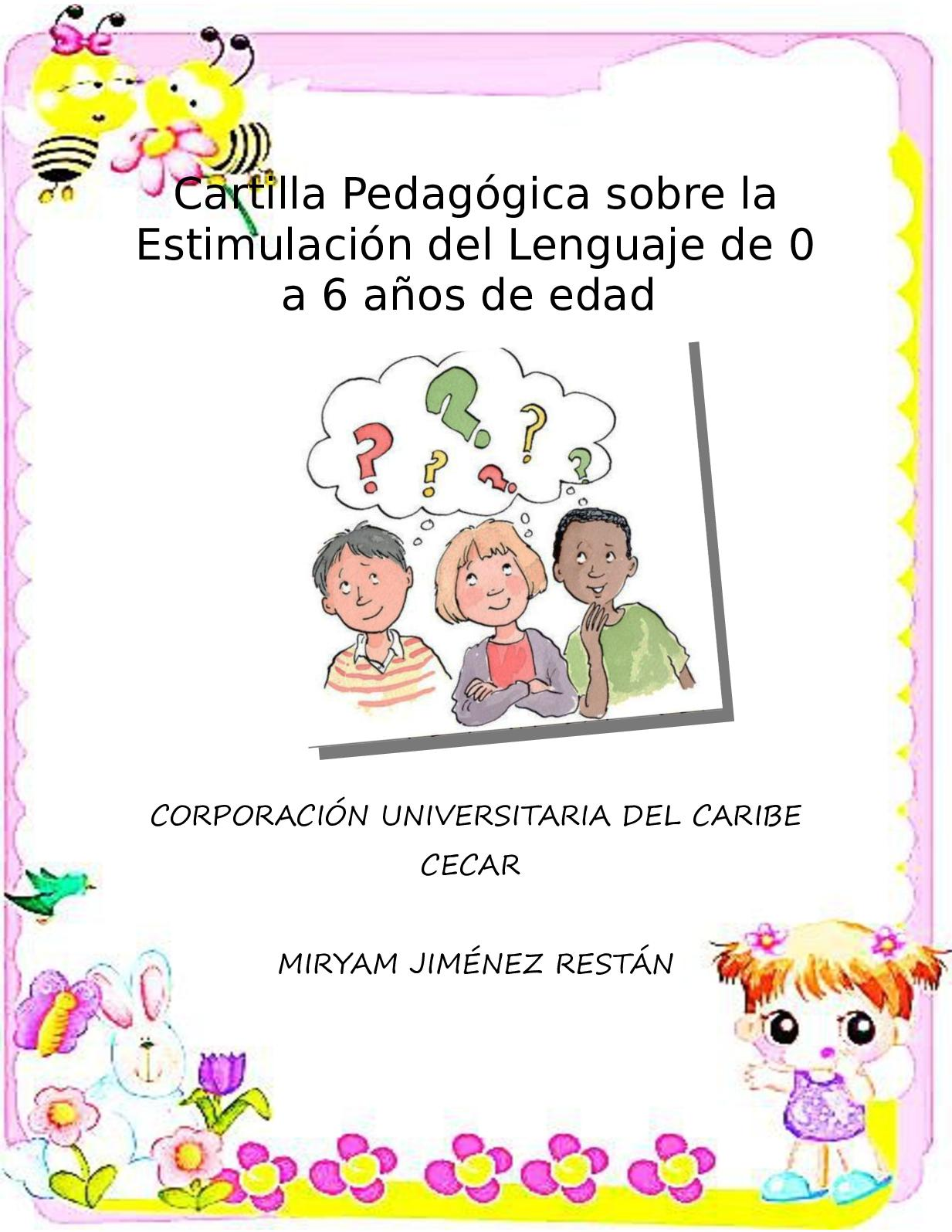 Cartilla Pedagogica