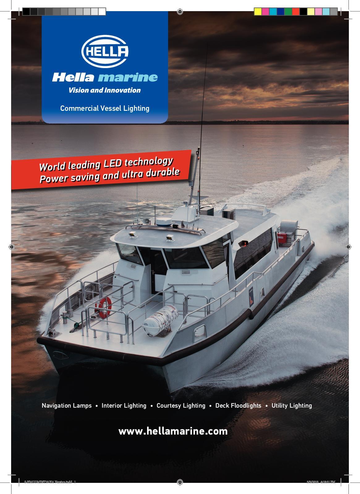24V 25W Anchor NAV LIGHT Boat Marine Fixed Mount 360 Degree All-Round