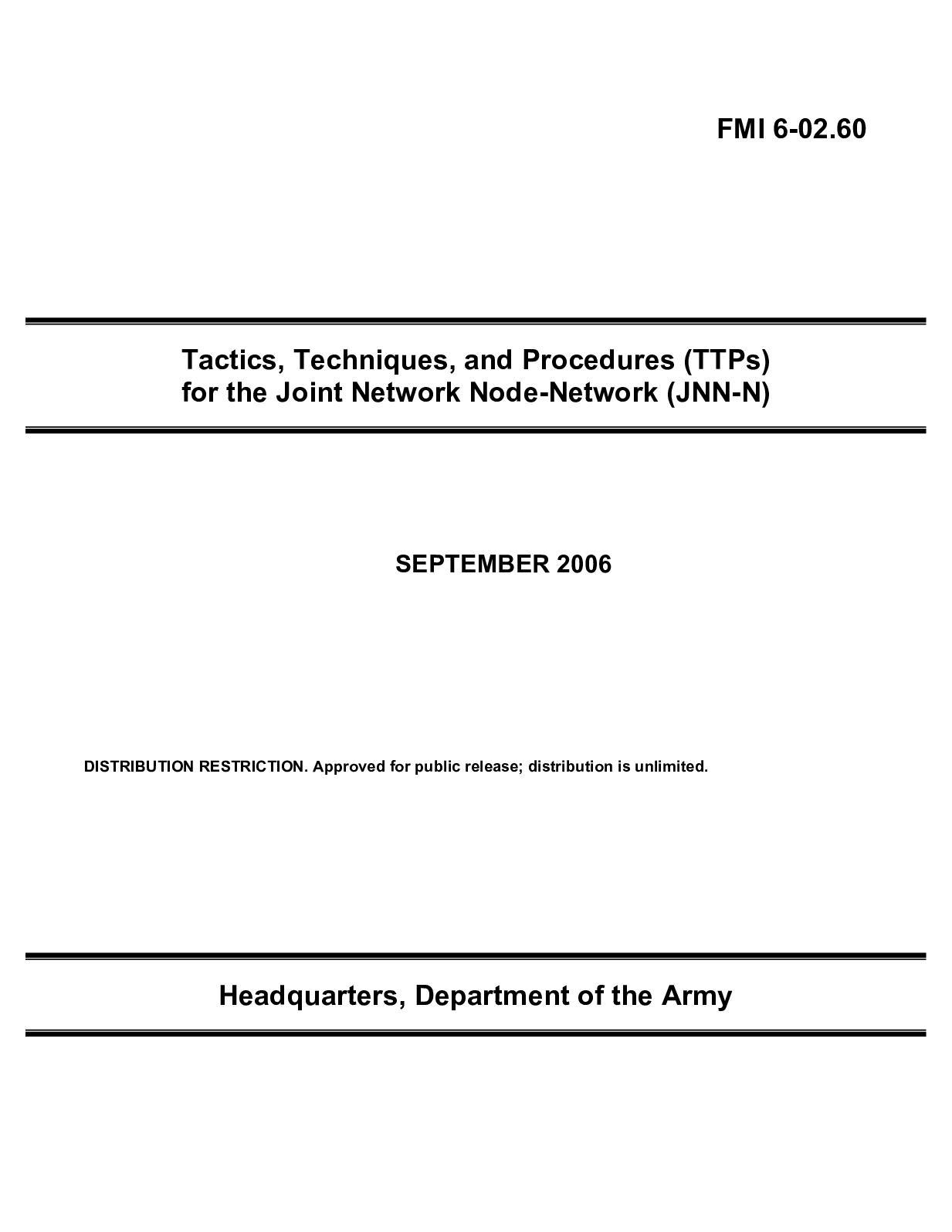 Calaméo - (e Book - English - Military) US Army - Field Manual FMI 6