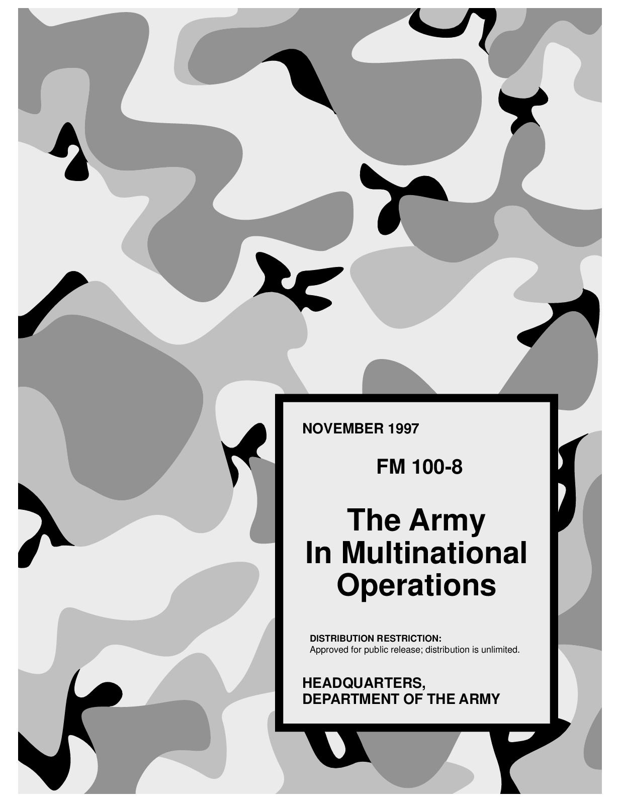 Calaméo - (e Book - English - Military) US Army - Field Manual FM