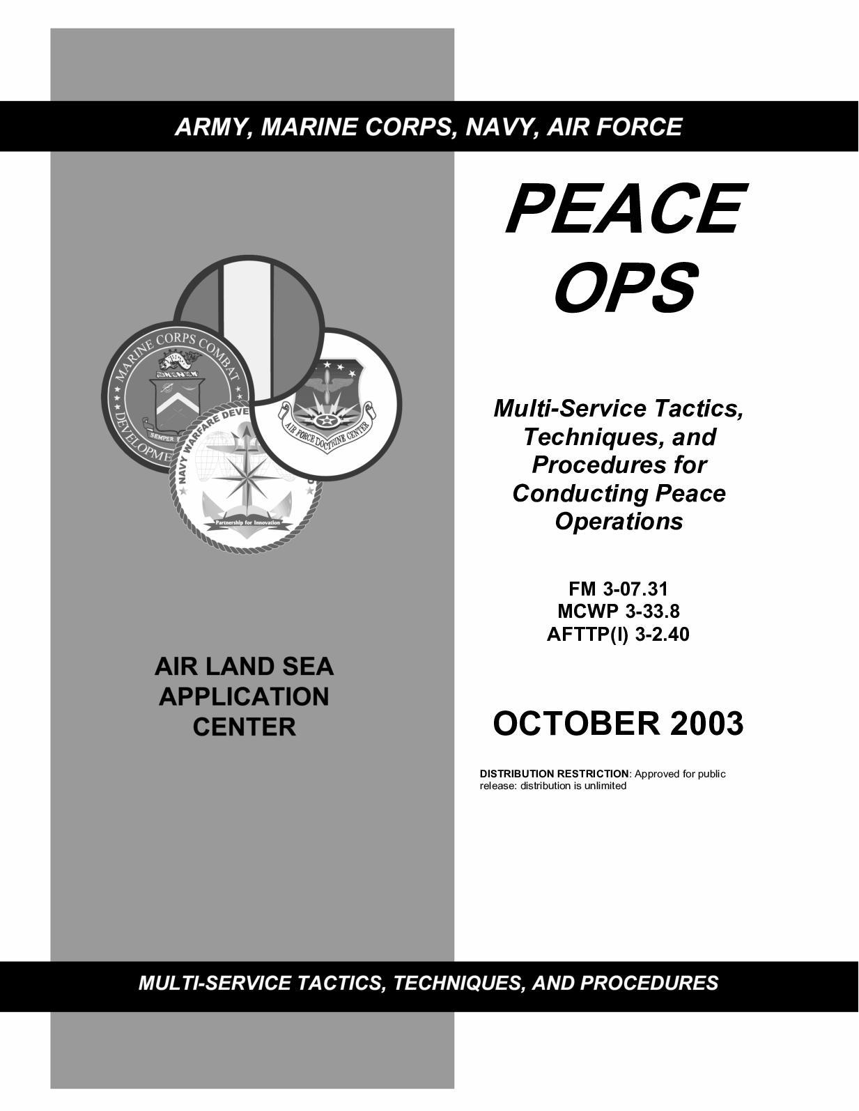 Calaméo - (e Book - English - Military) US Army - Field Manual FM 3
